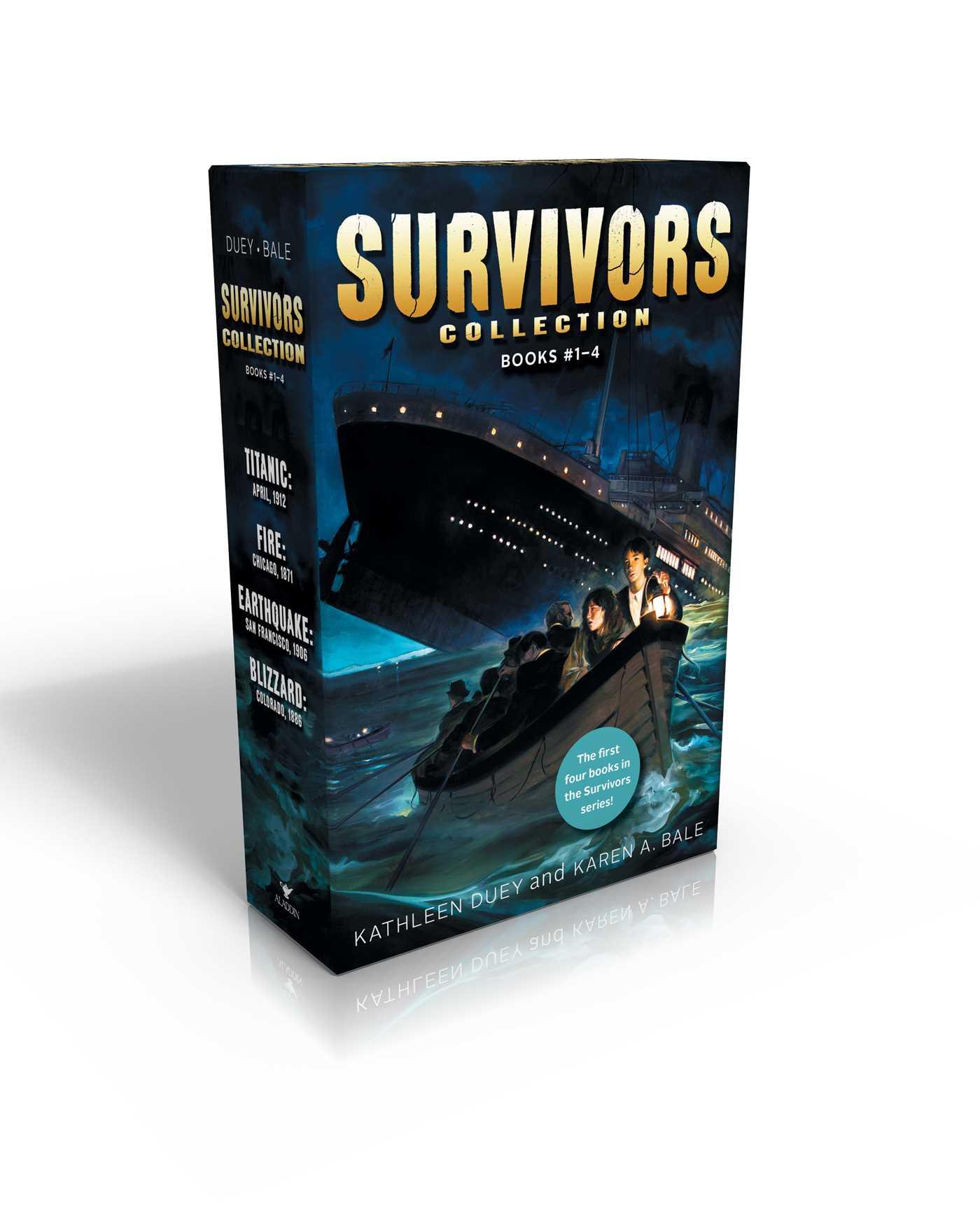 Titanic Survival! Series Book 1 Kathleen Duey Karen A