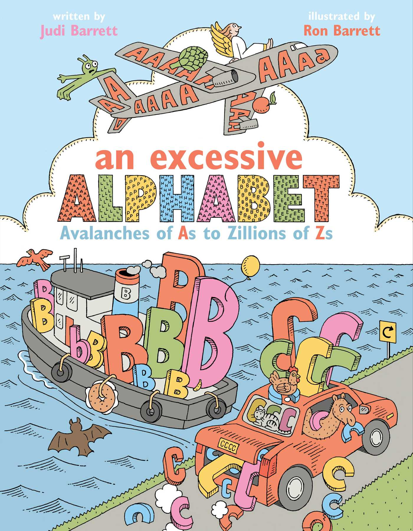An excessive alphabet 9781481439862 hr