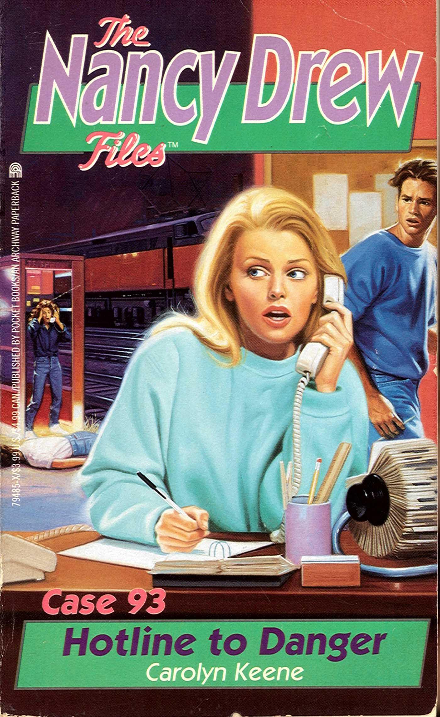 Hotline to danger 9781481440035 hr