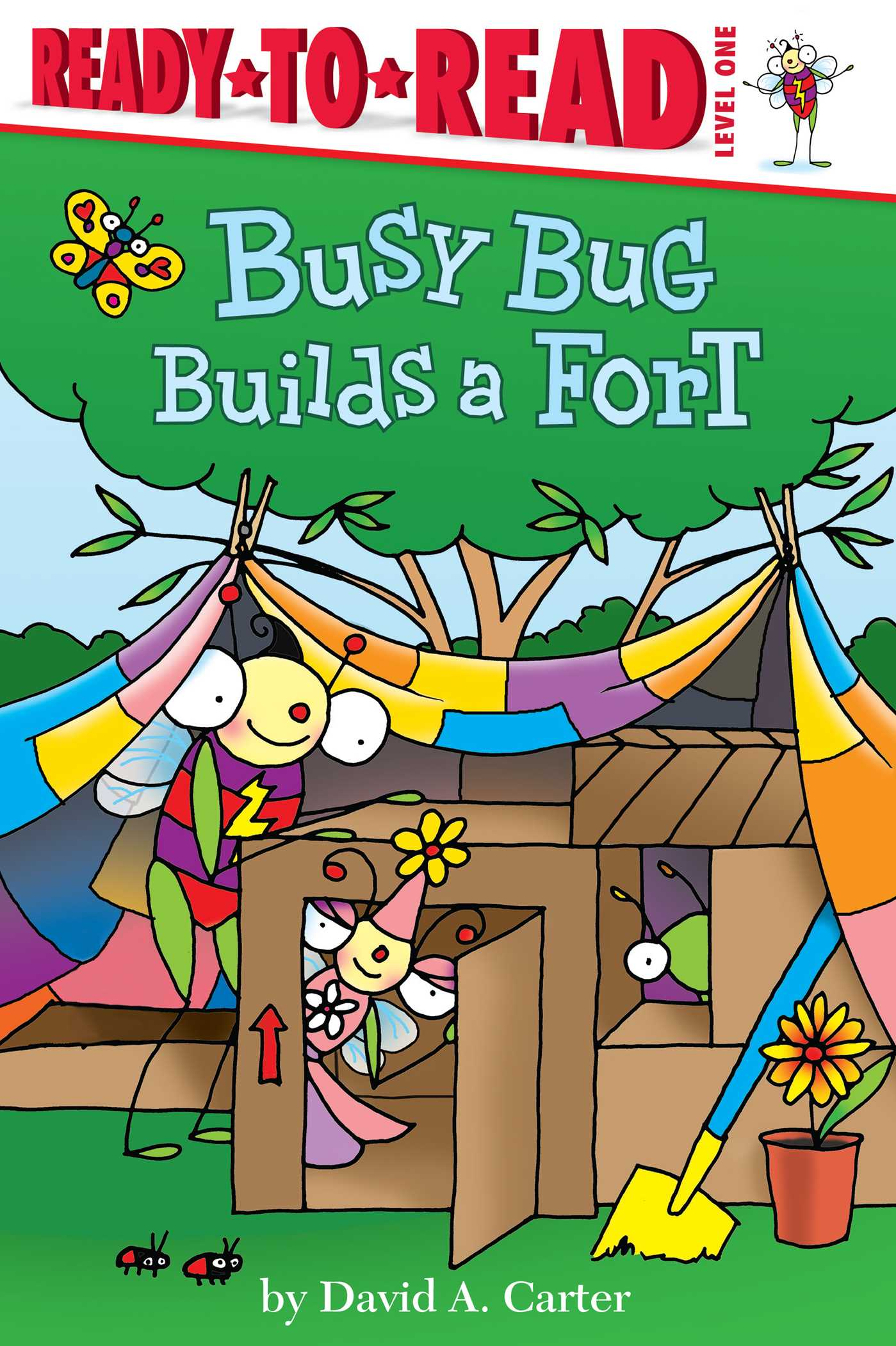 Busy bug builds a fort 9781481440479 hr