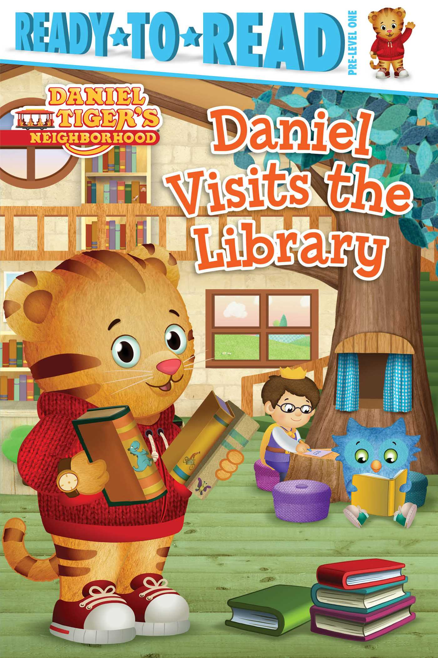 Daniel visits the library 9781481441728 hr