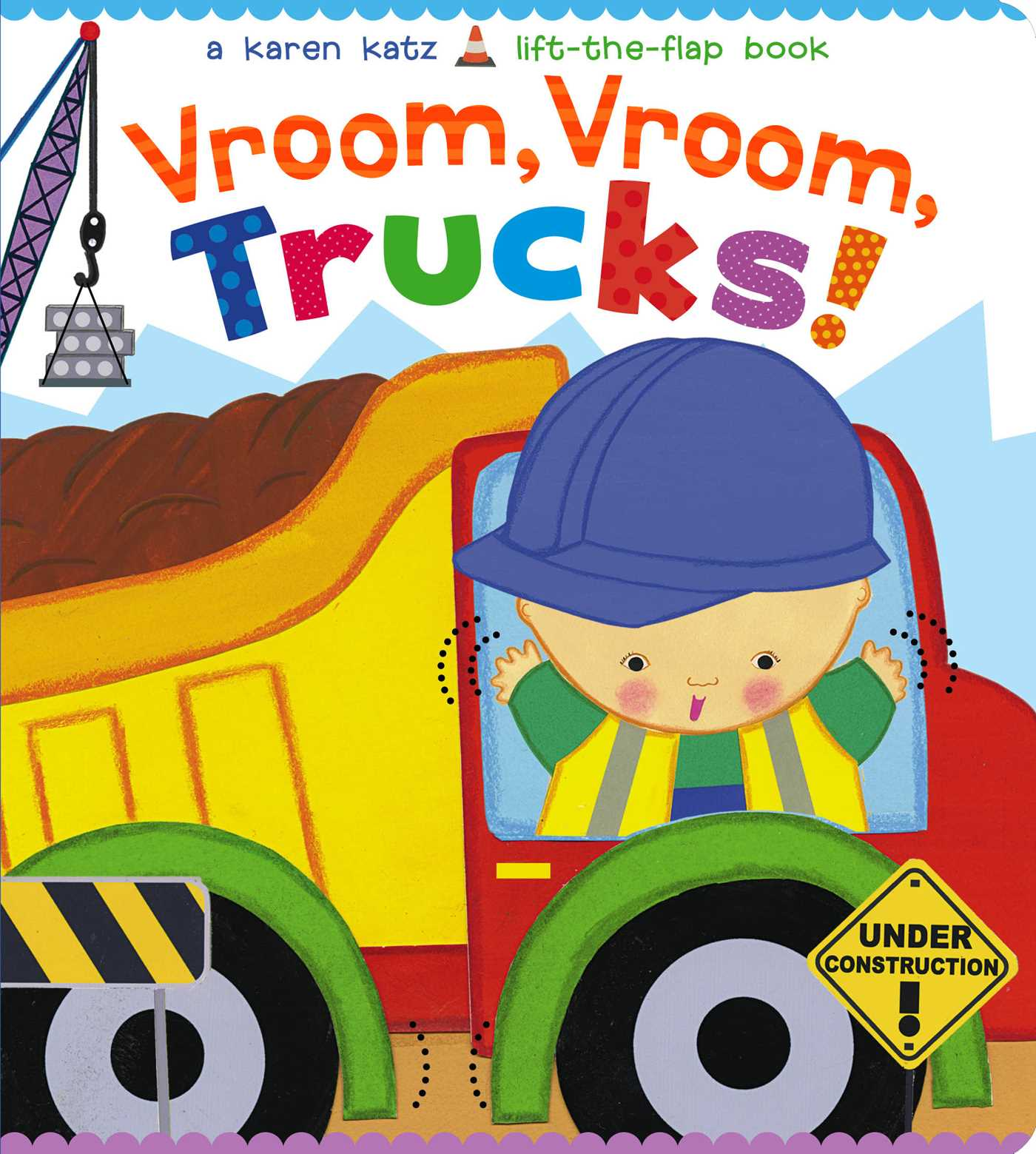 Vroom vroom trucks 9781481442091 hr