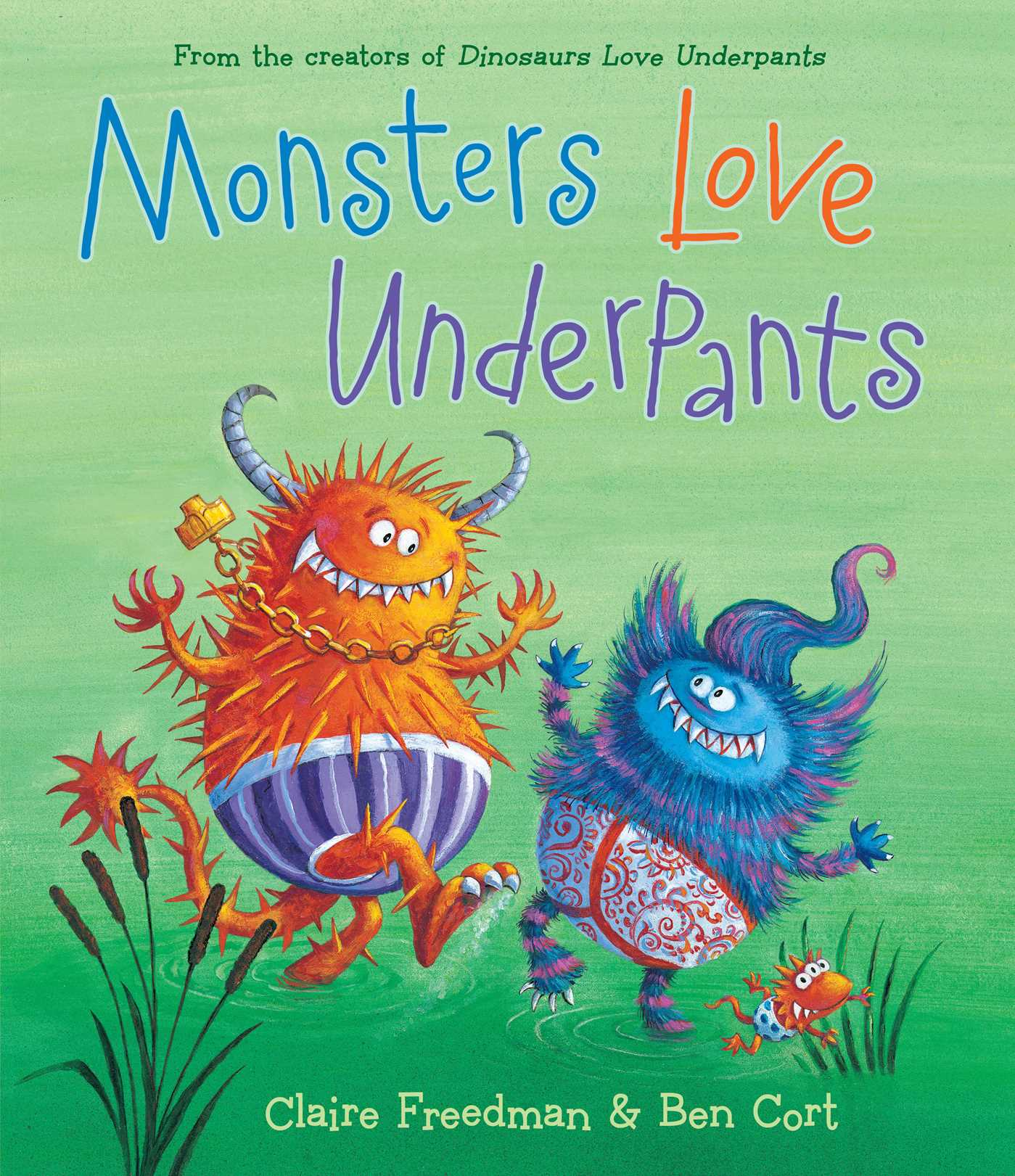 Monsters love underpants book by claire freedman ben cort monsters love underpants 9781481442527 hr fandeluxe Image collections