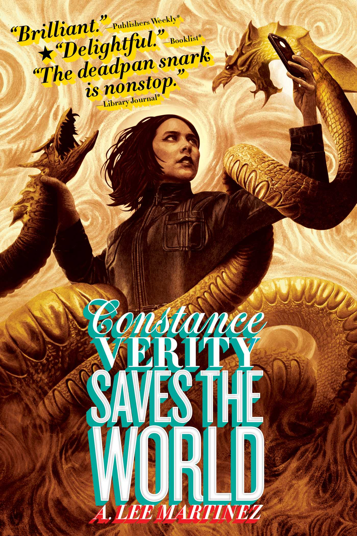Constance verity saves the world 9781481443555 hr
