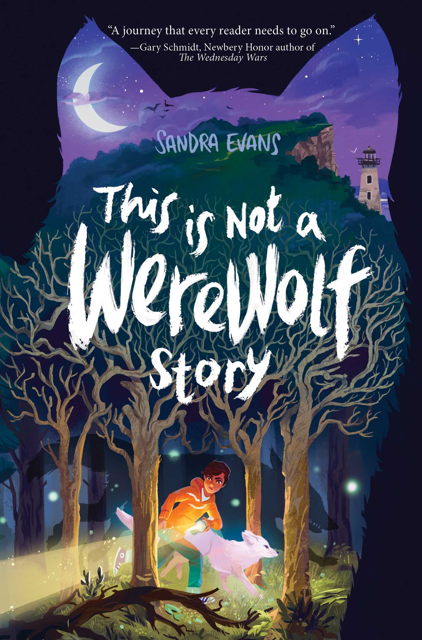 This Is Not A Werewolf Story Book By Sandra Evans