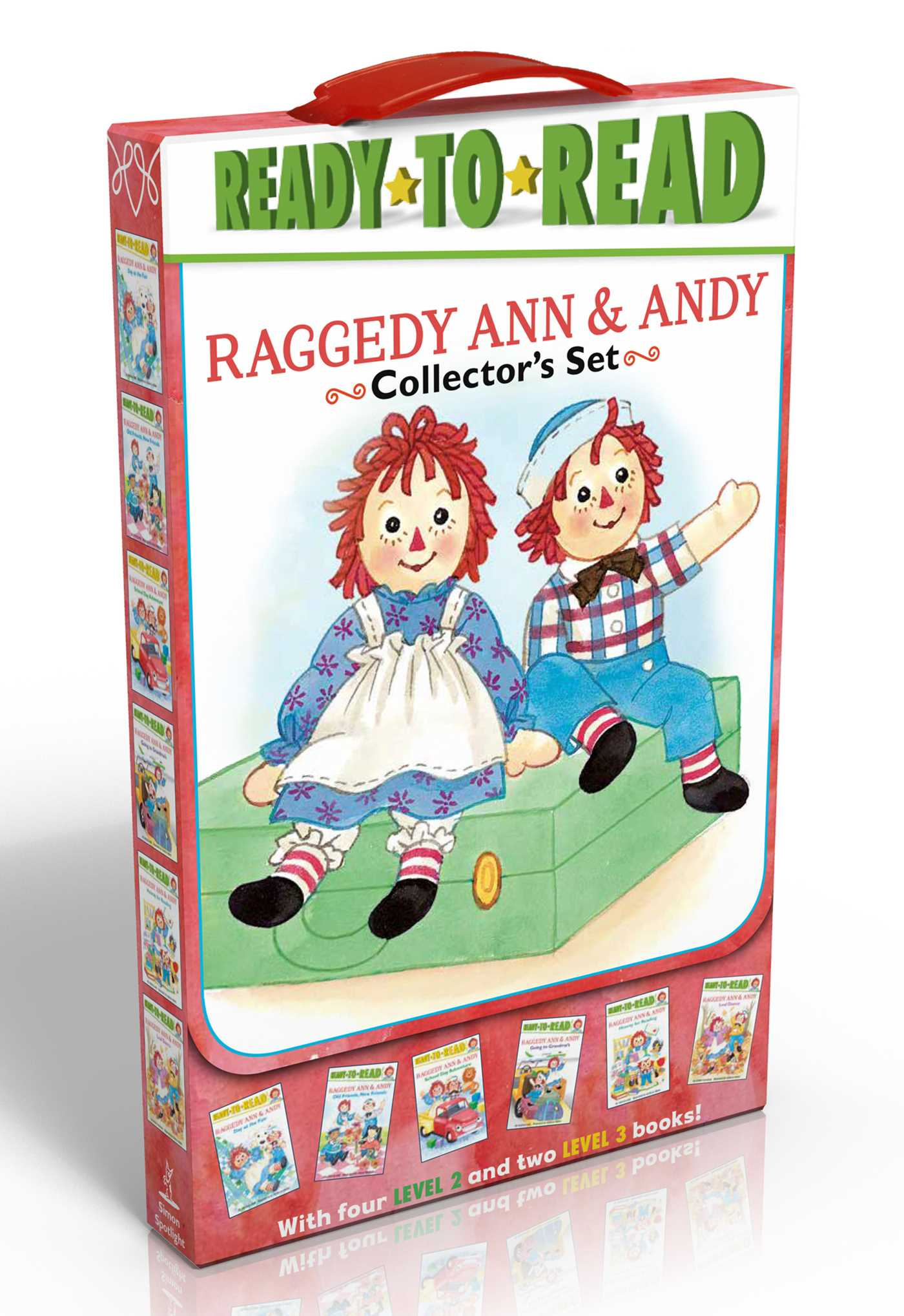 Raggedy ann andy collectors set 9781481446082 hr