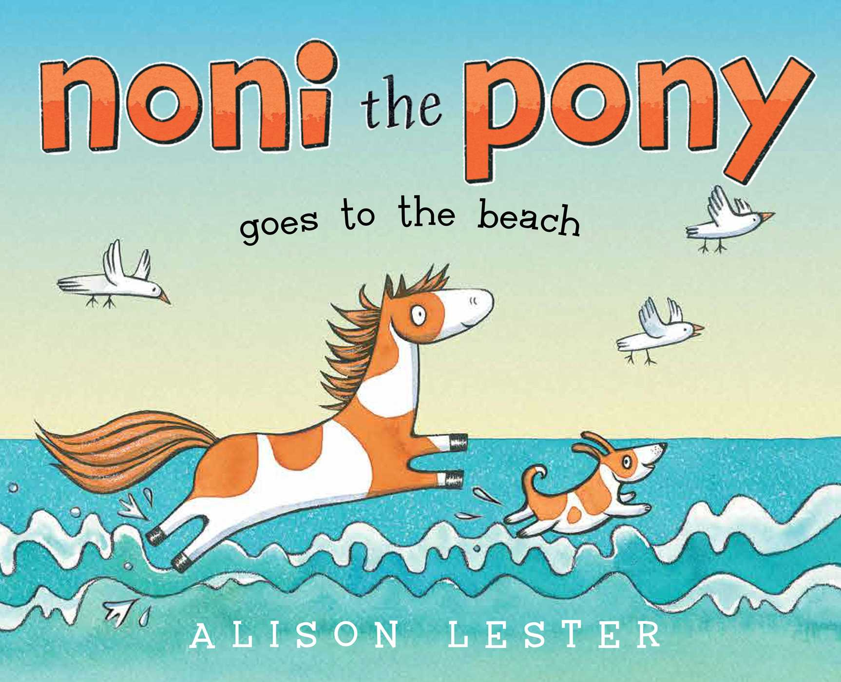 Noni the pony goes to the beach 9781481446259 hr