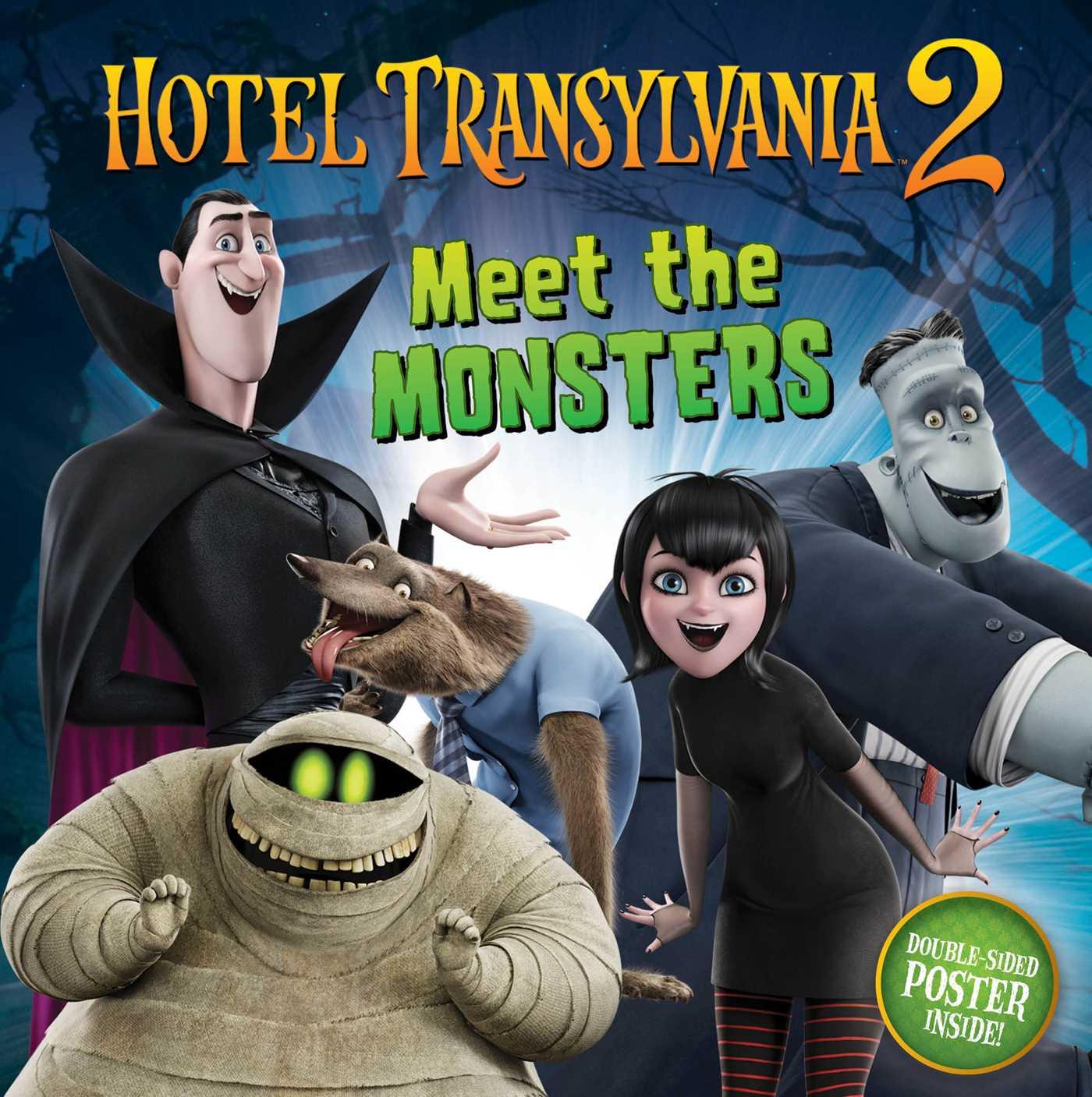 Meet the monsters 9781481448024 hr