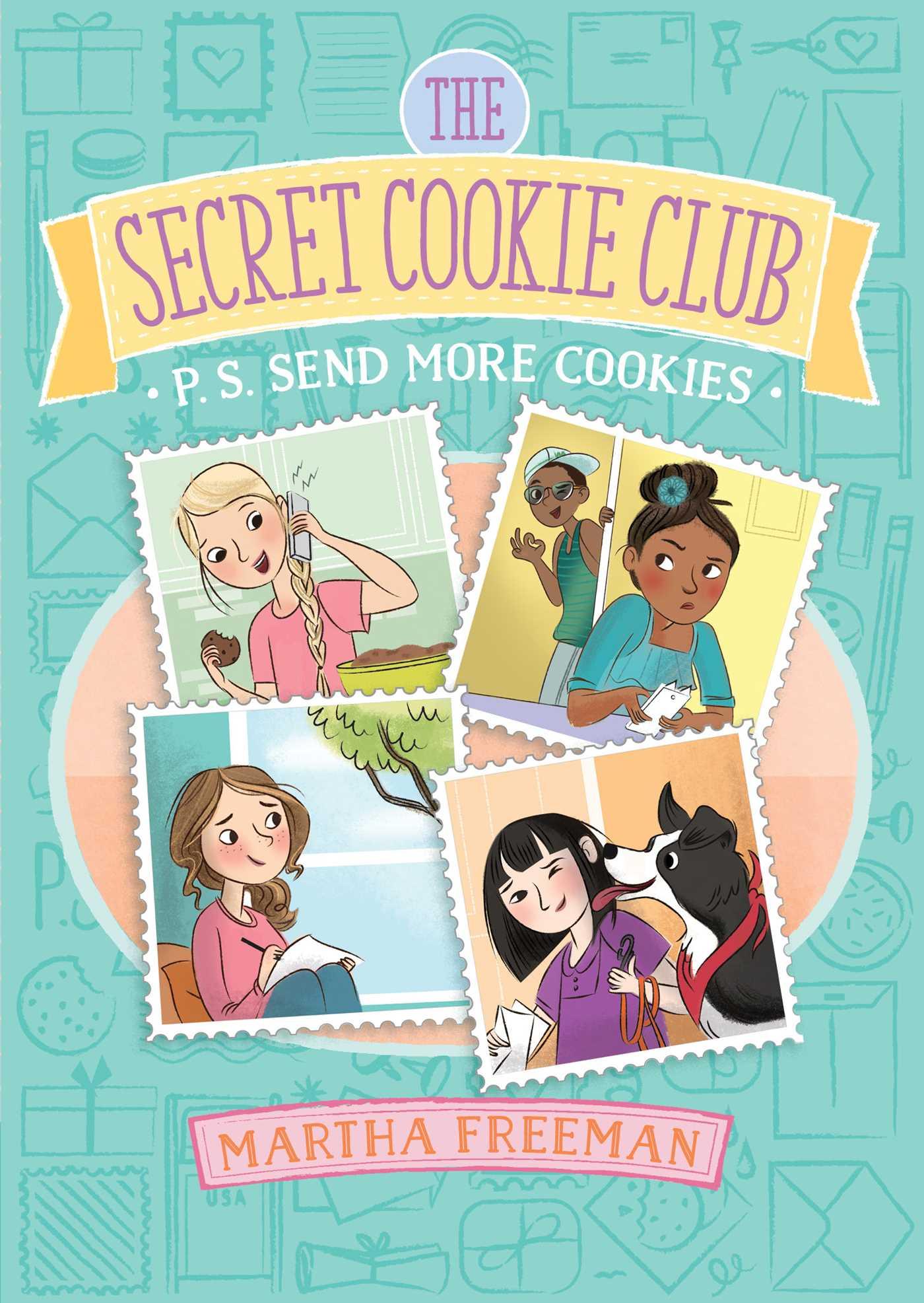P s send more cookies 9781481448246 hr