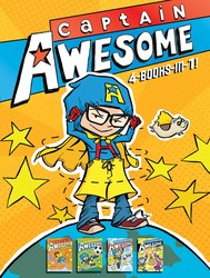 Captain Awesome 4-Books-in-1