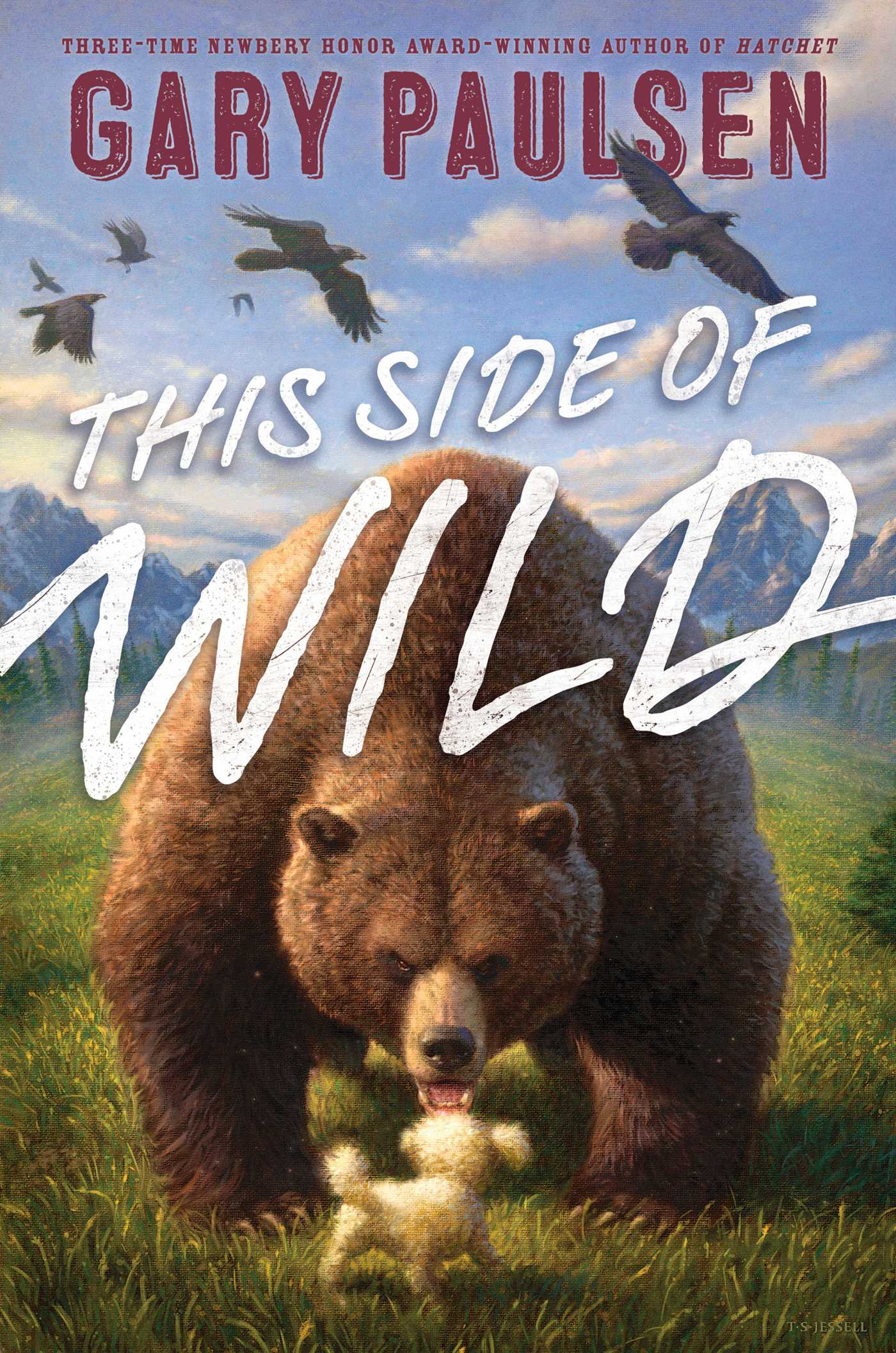 this side of wild book by gary paulsen tim jessell official rh simonandschuster com
