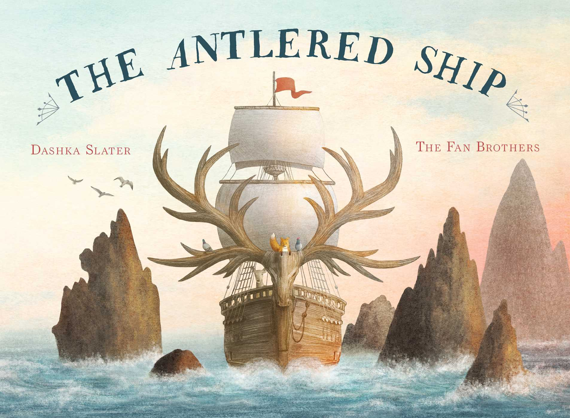 The antlered ship 9781481451604 hr