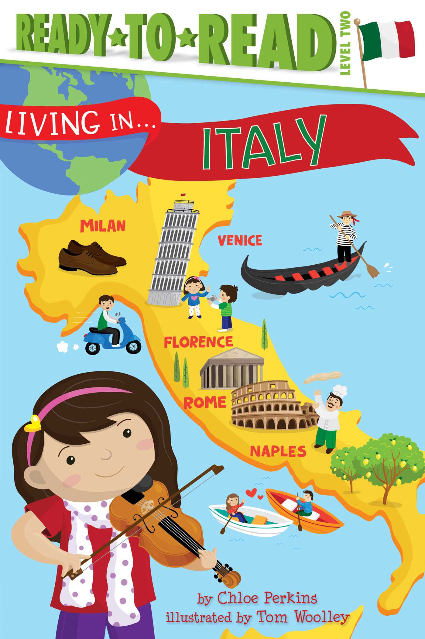 Living in italy 9781481452007 hr