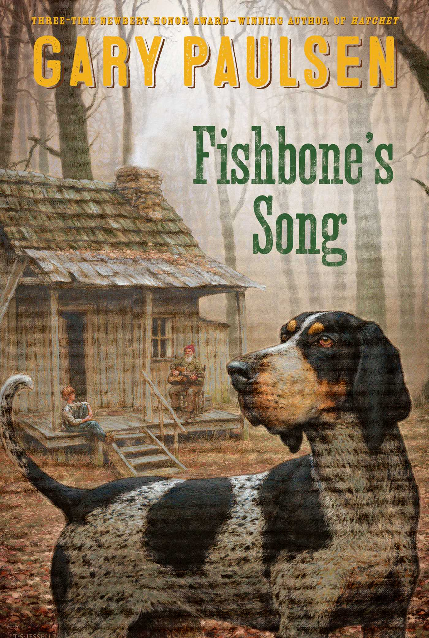 Fishbones song book by gary paulsen official publisher page fishbones song 9781481452274 hr fandeluxe Gallery