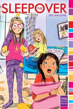 the sleepover book by jen malone official publisher page simon