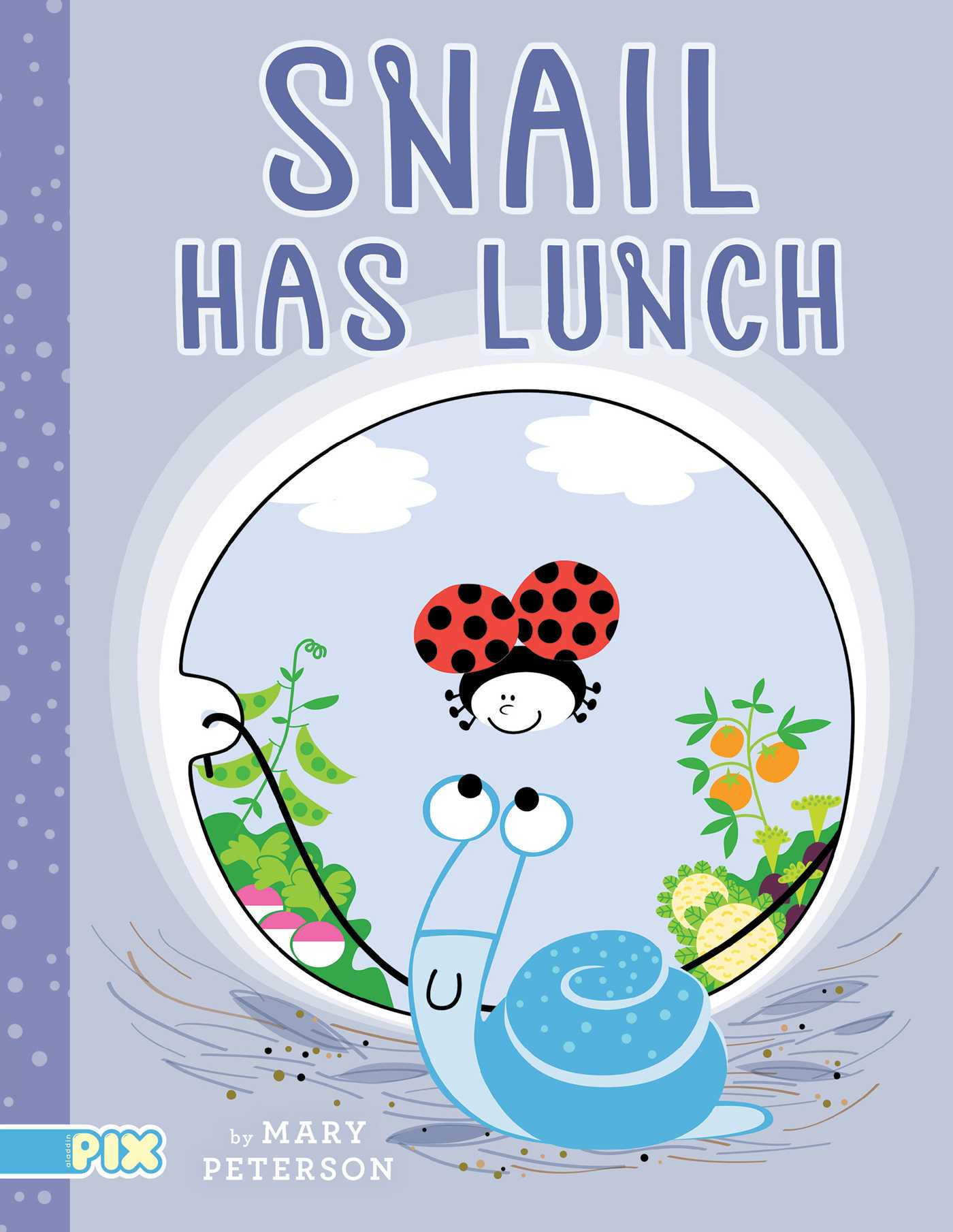 Snail has lunch 9781481453028 hr