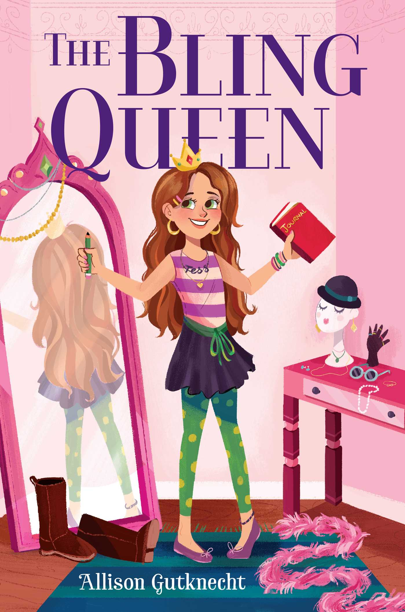 The bling queen 9781481453097 hr