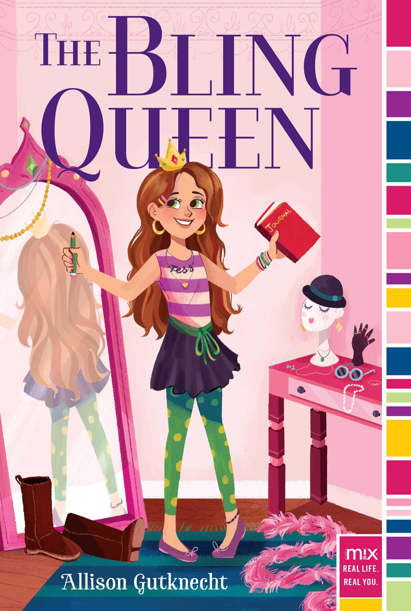 The bling queen 9781481453103 hr