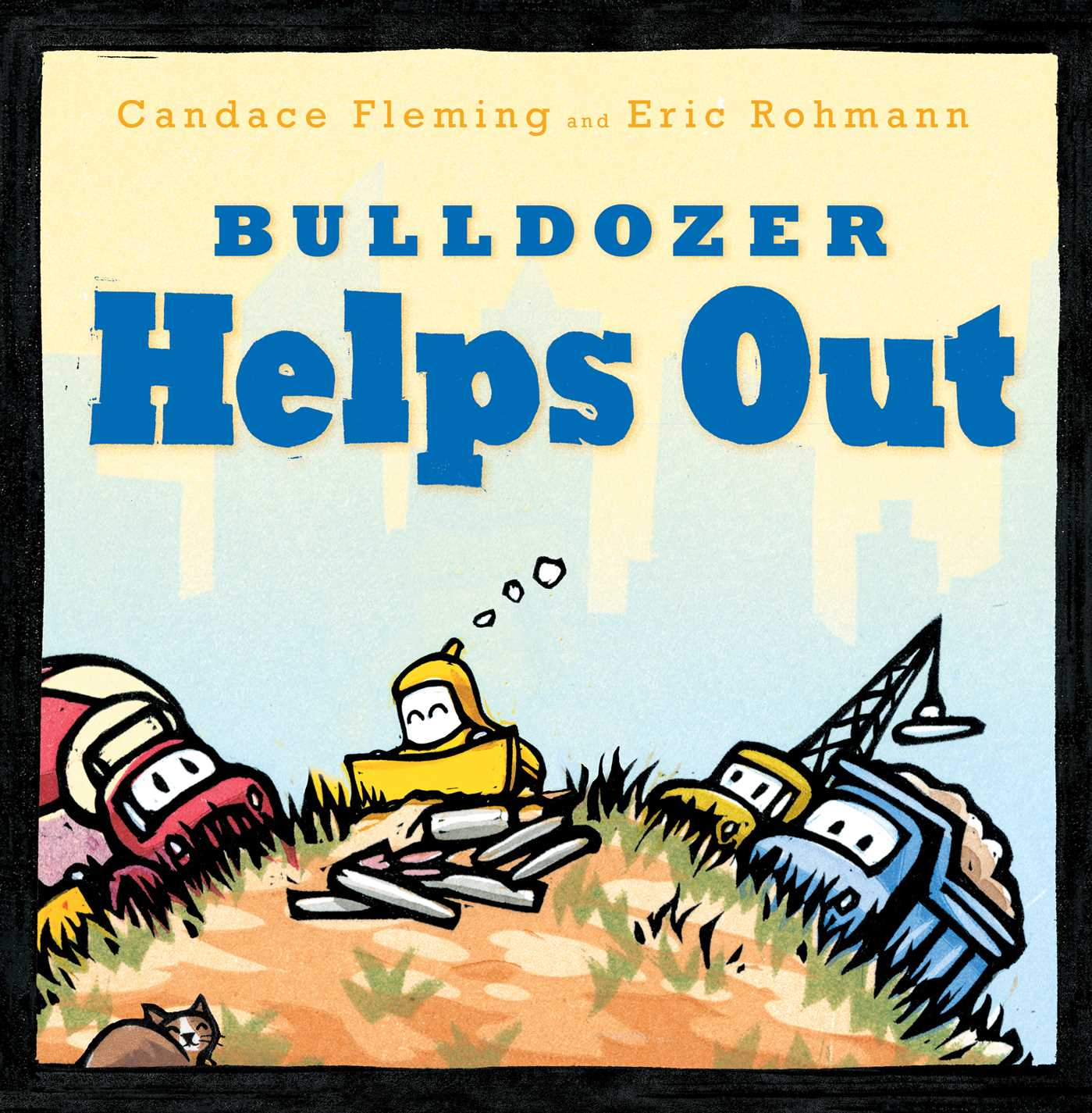 Bulldozer helps out 9781481458948 hr
