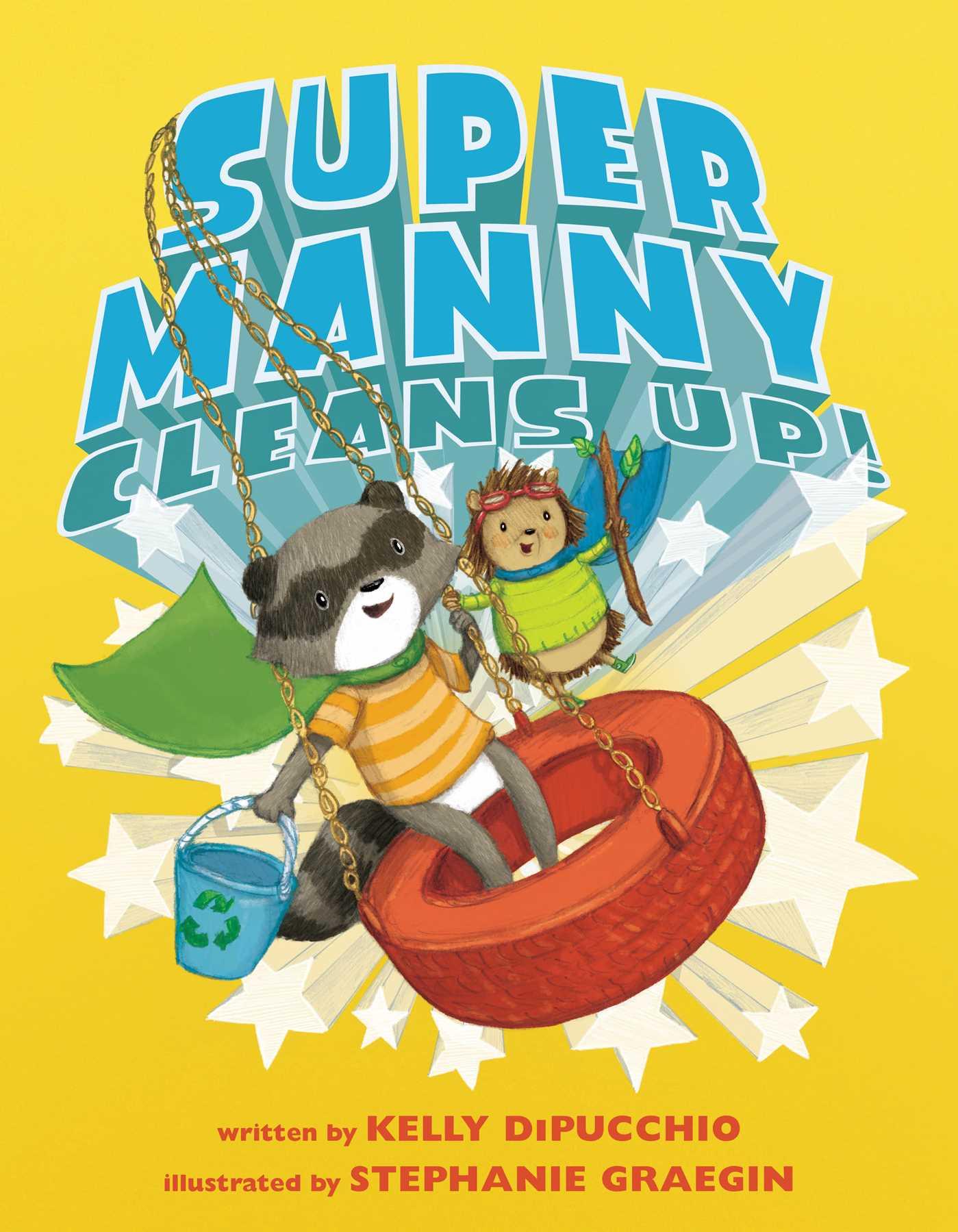 Super manny cleans up 9781481459624 hr