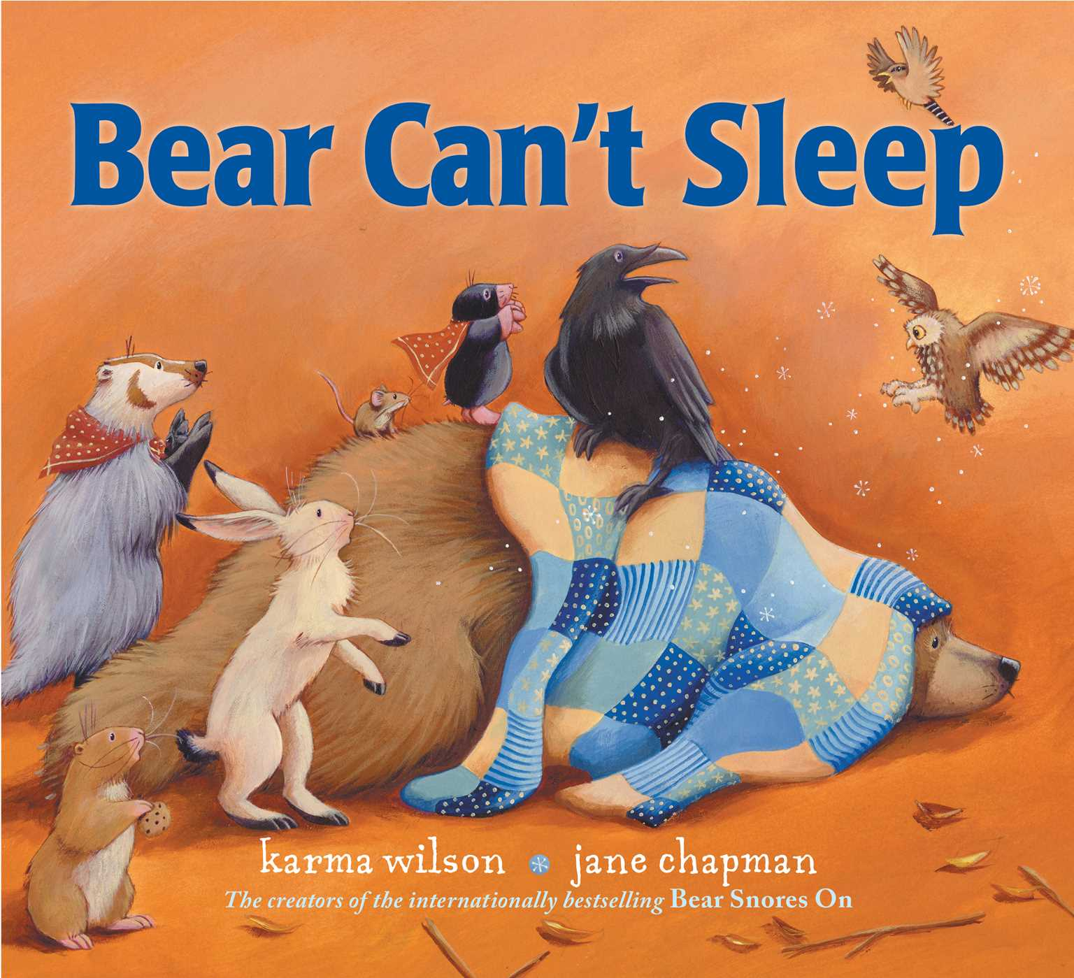 Bear Can T Sleep Book By Karma Wilson Jane Chapman