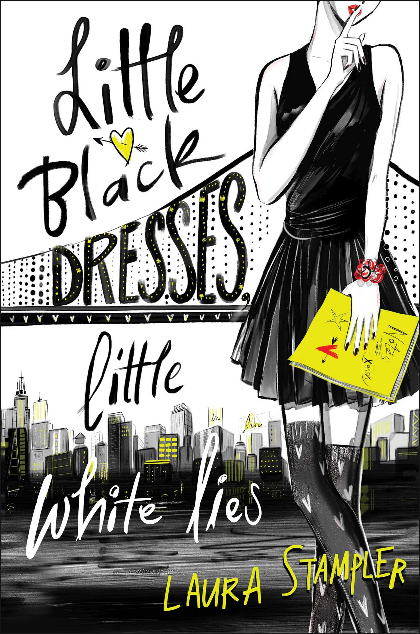 Little black dresses little white lies 9781481459891 hr