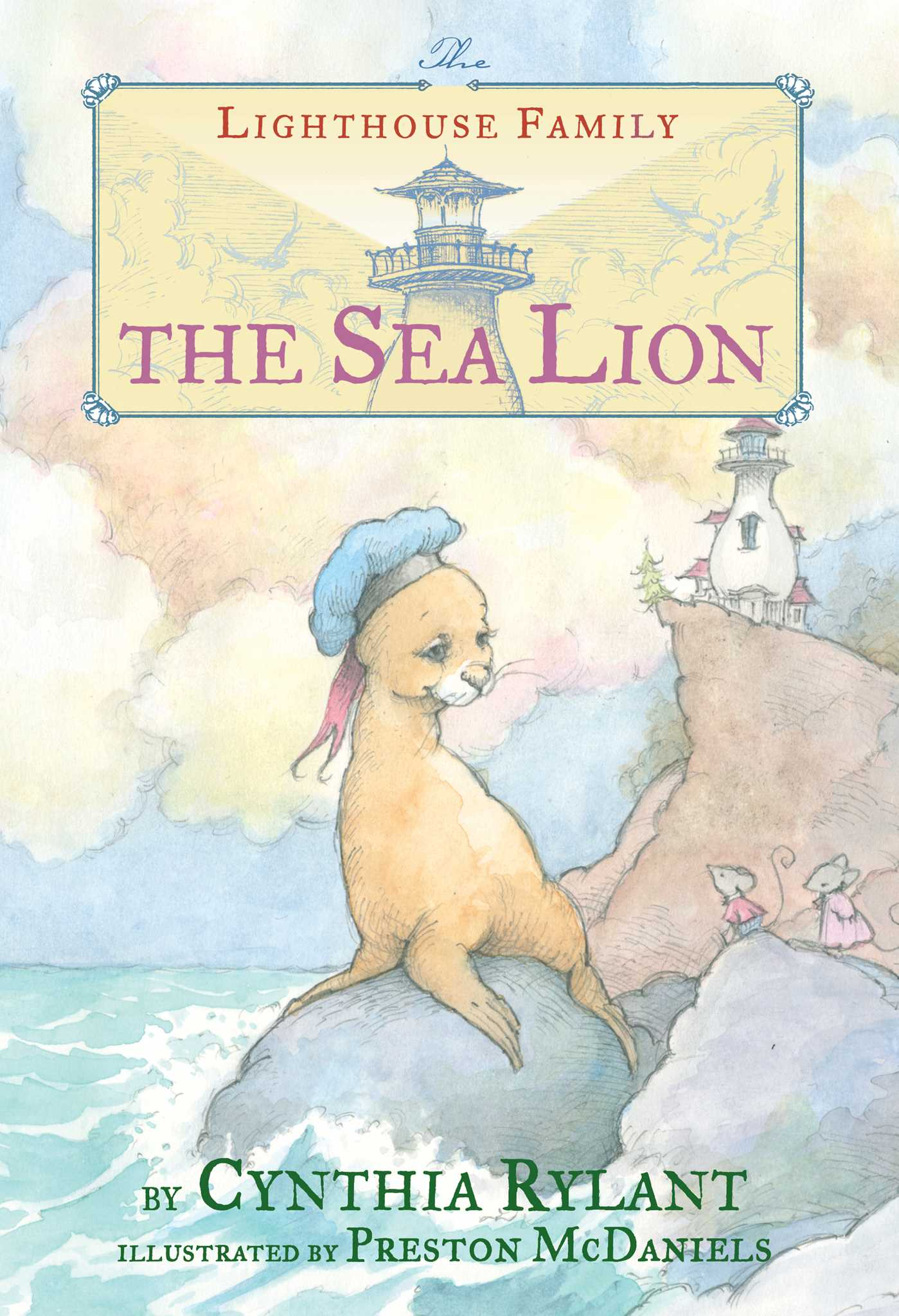 The sea lion 9781481460262 hr