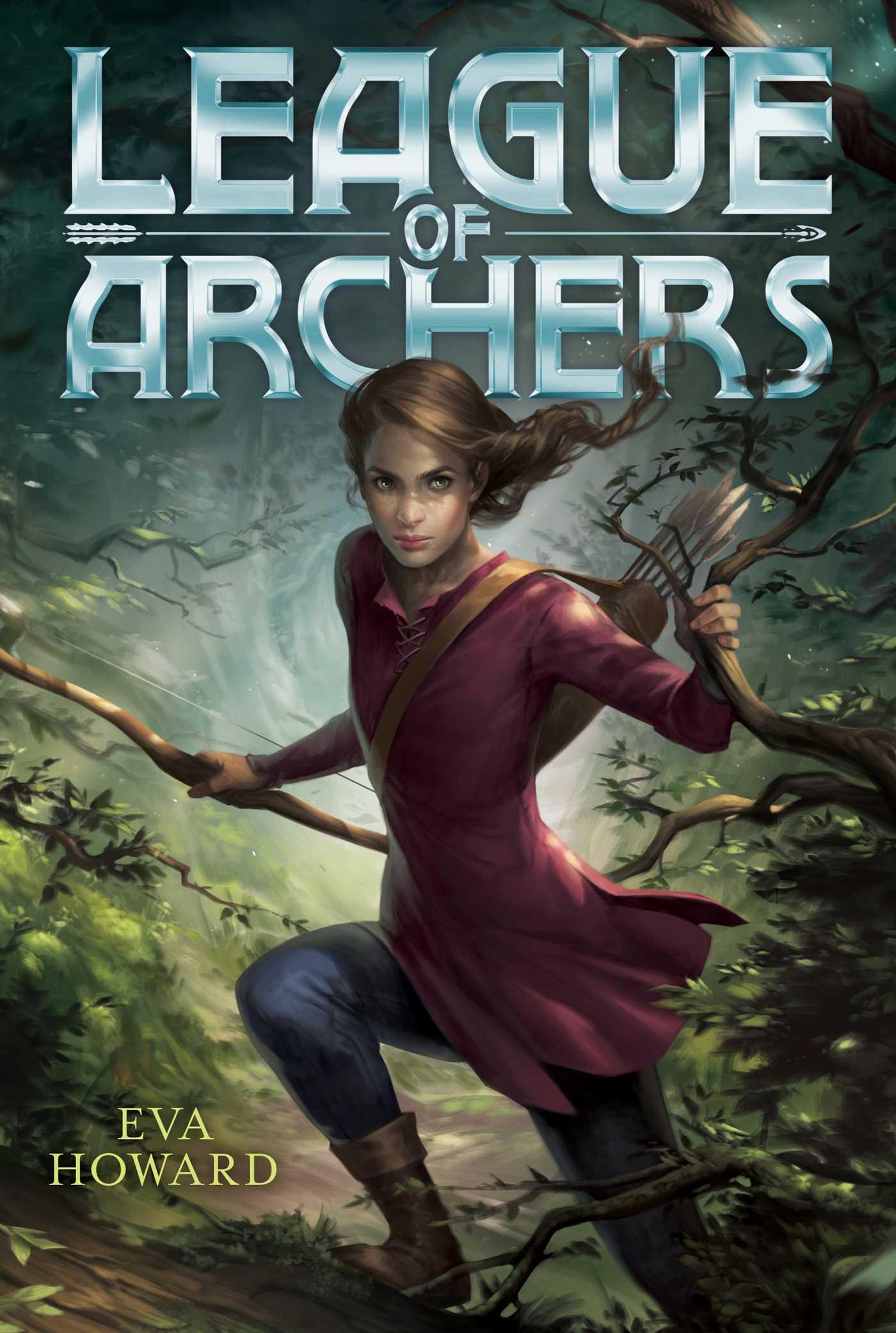 League of archers 9781481460385 hr