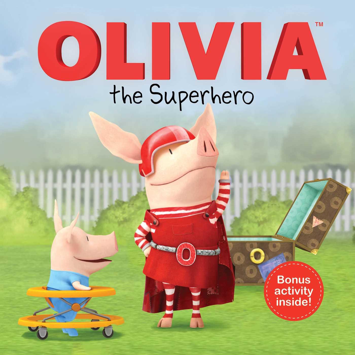 Olivia the superhero 9781481460552 hr