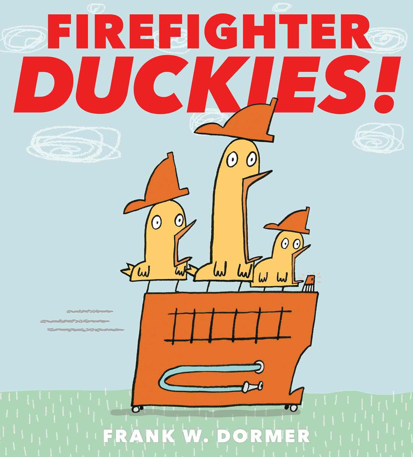 Firefighter duckies 9781481460903 hr