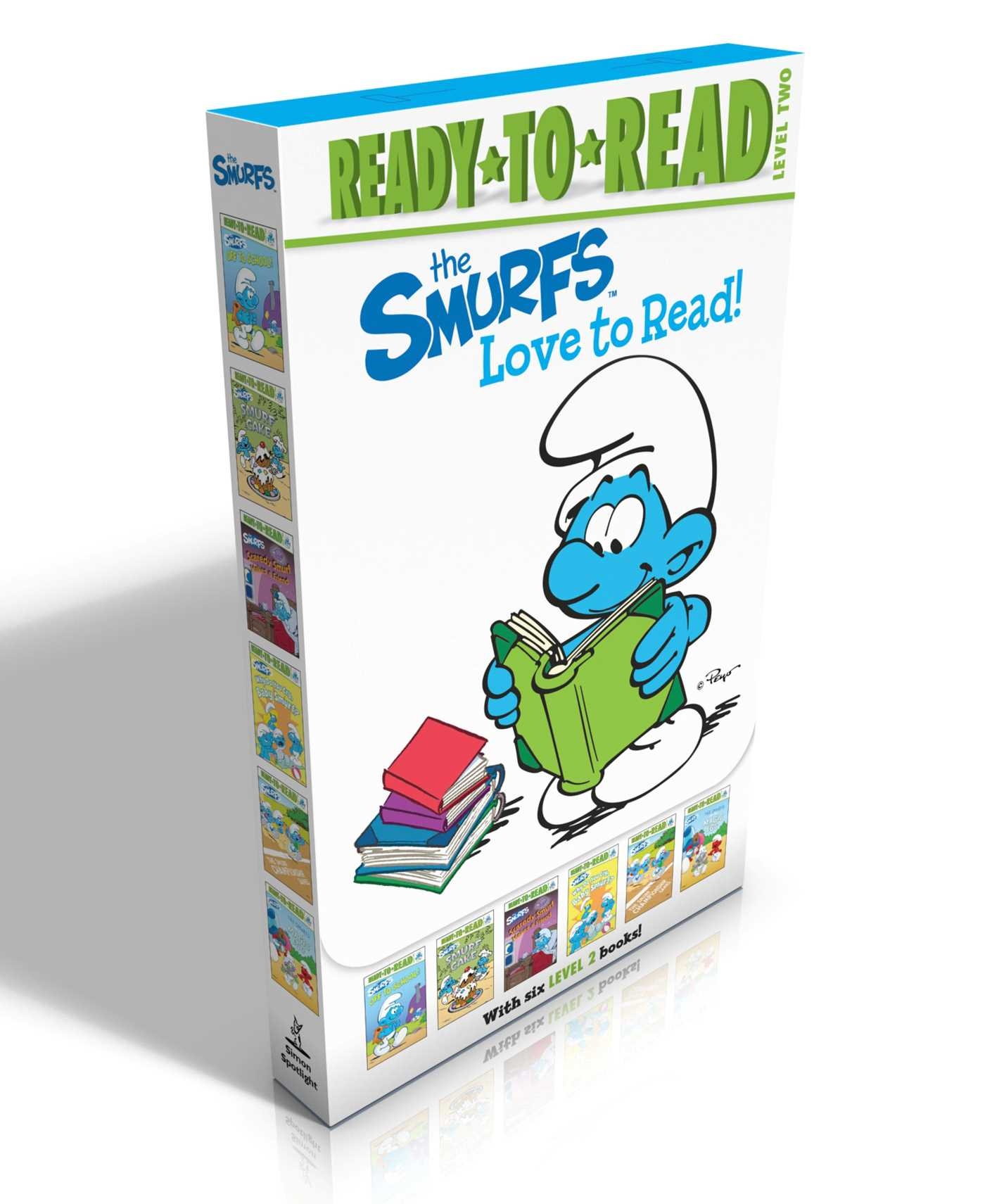 The smurfs love to read 9781481461672 hr