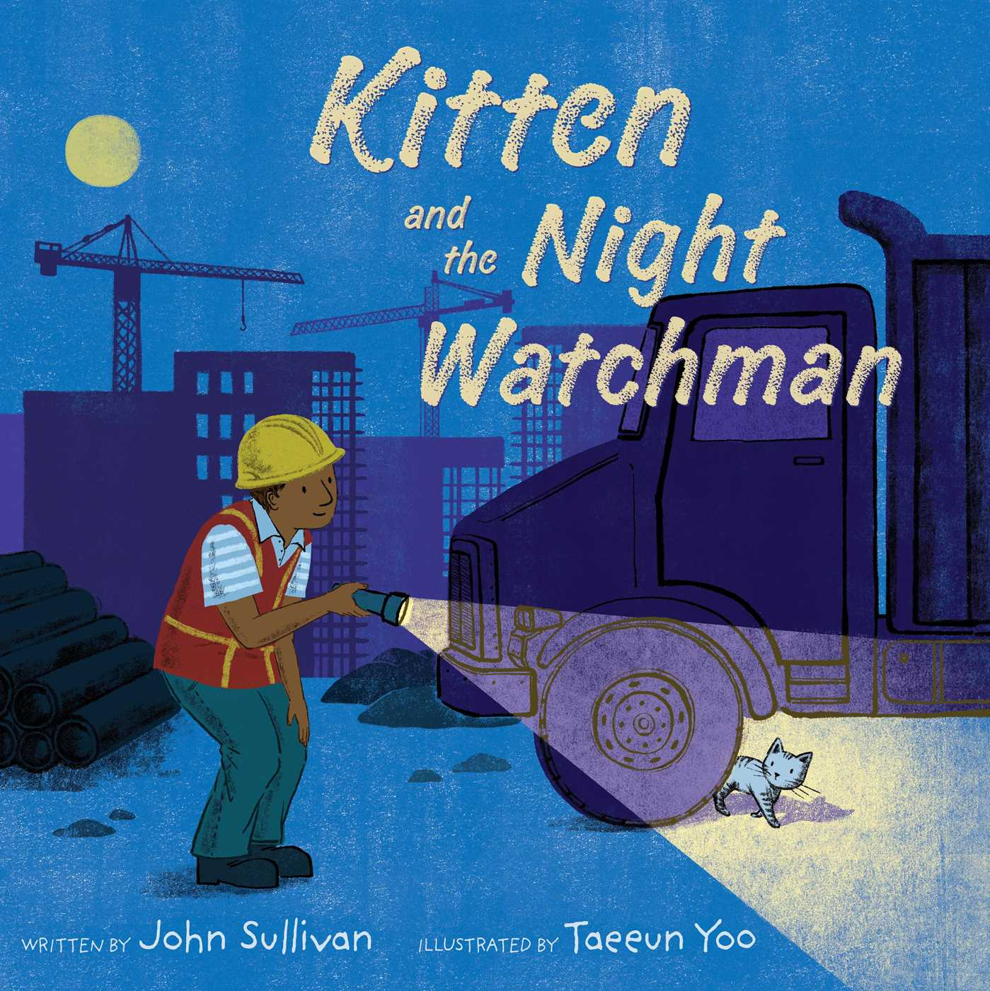 Kitten and the night watchman 9781481461917 hr