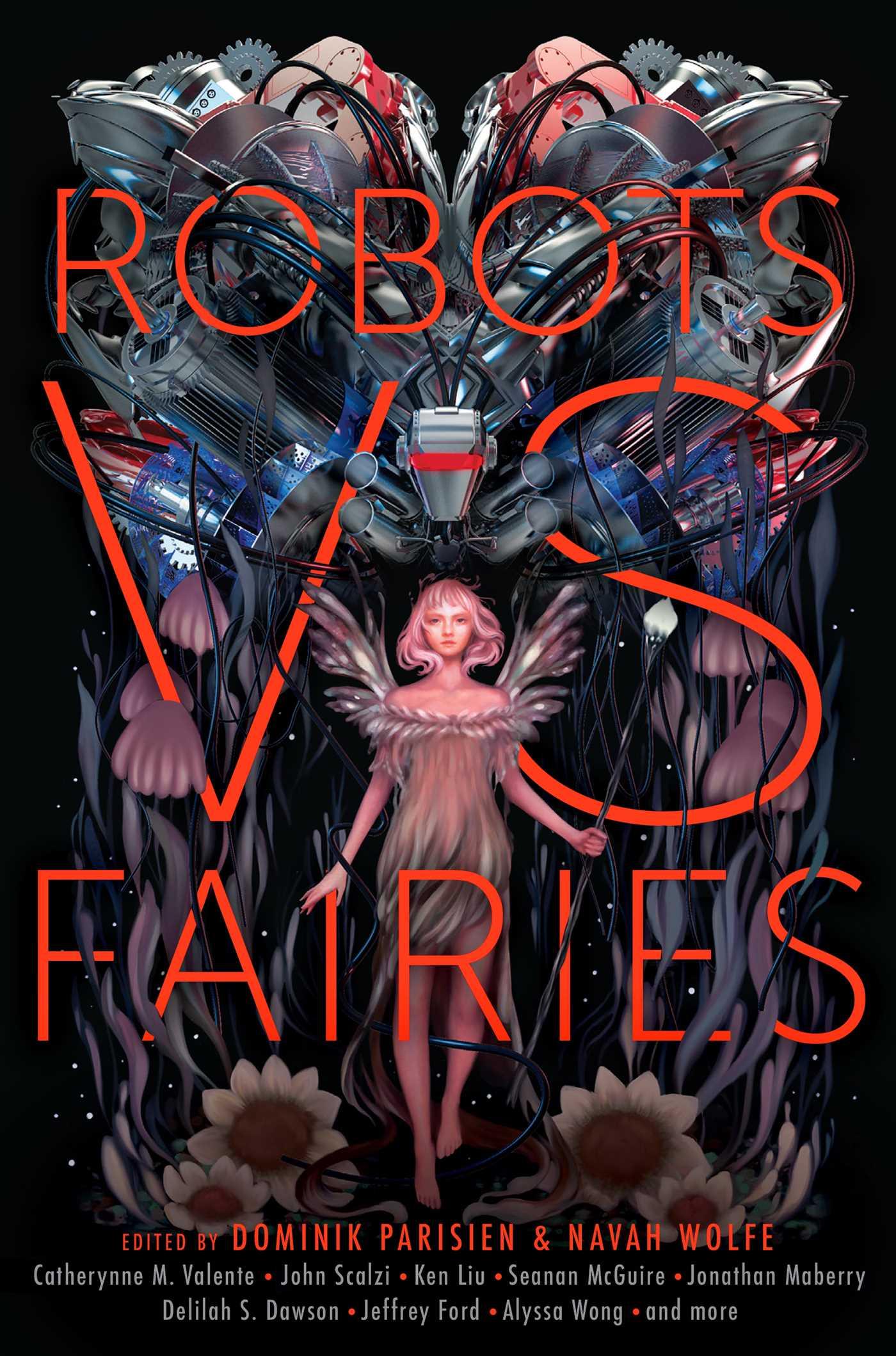Robots vs fairies 9781481462365 hr