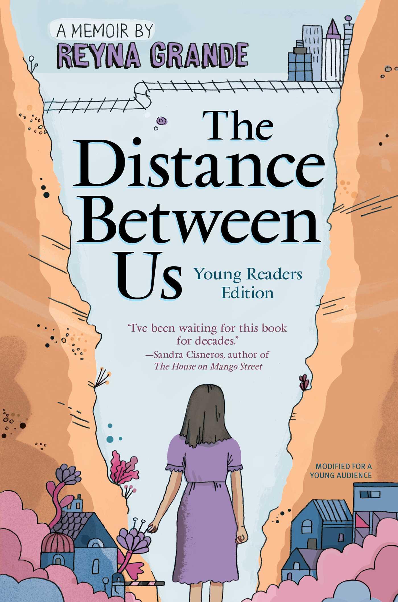 The distance between us 9781481463706 hr