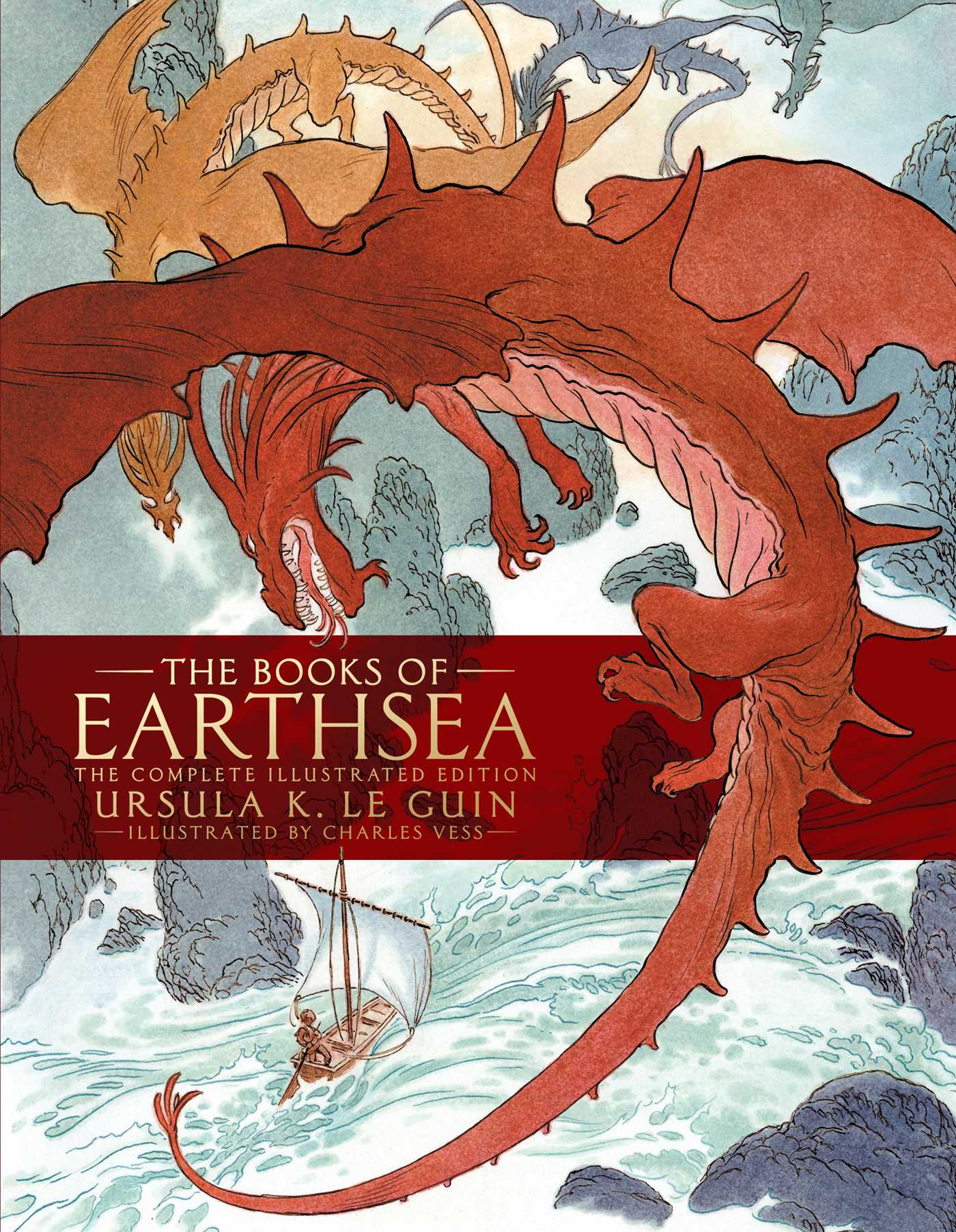 The books of earthsea 9781481465588 hr