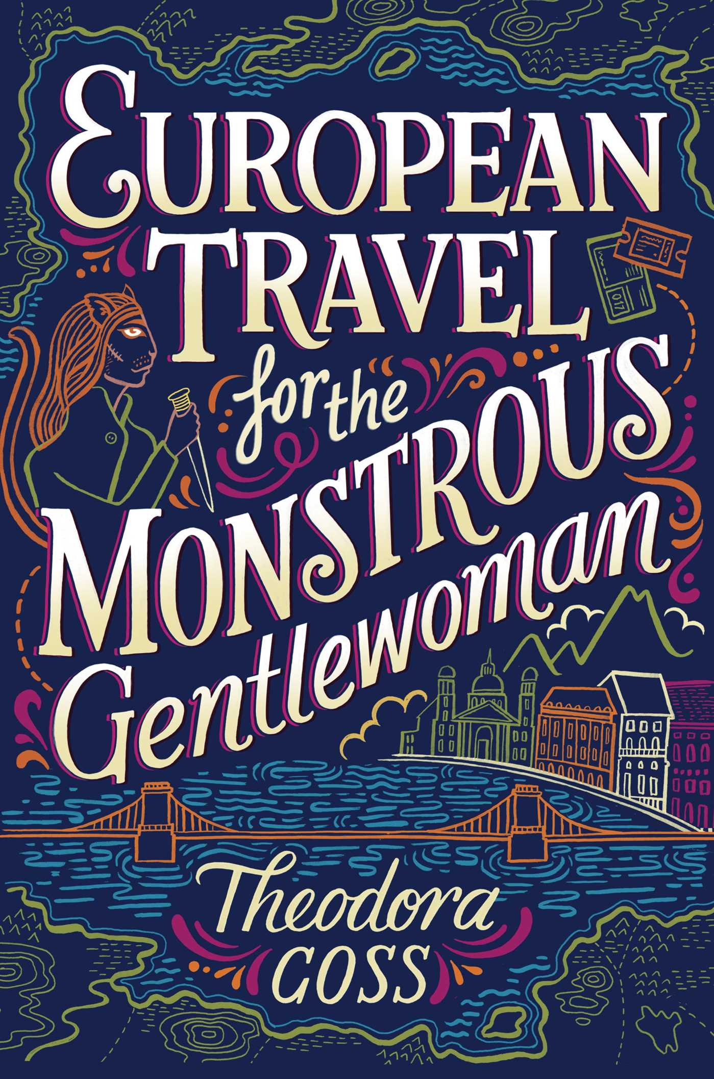 European travel for the monstrous gentlewoman 9781481466547 hr