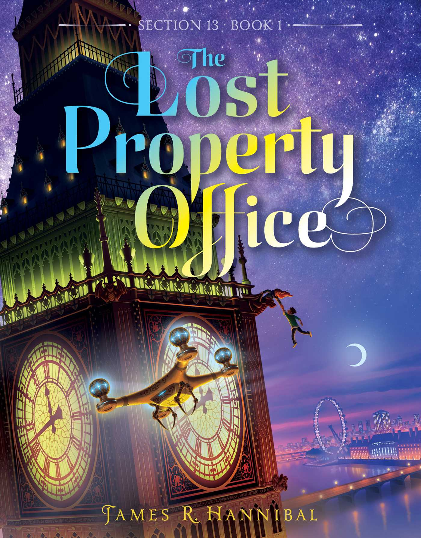 The Lost Property Office | Book by James R  Hannibal