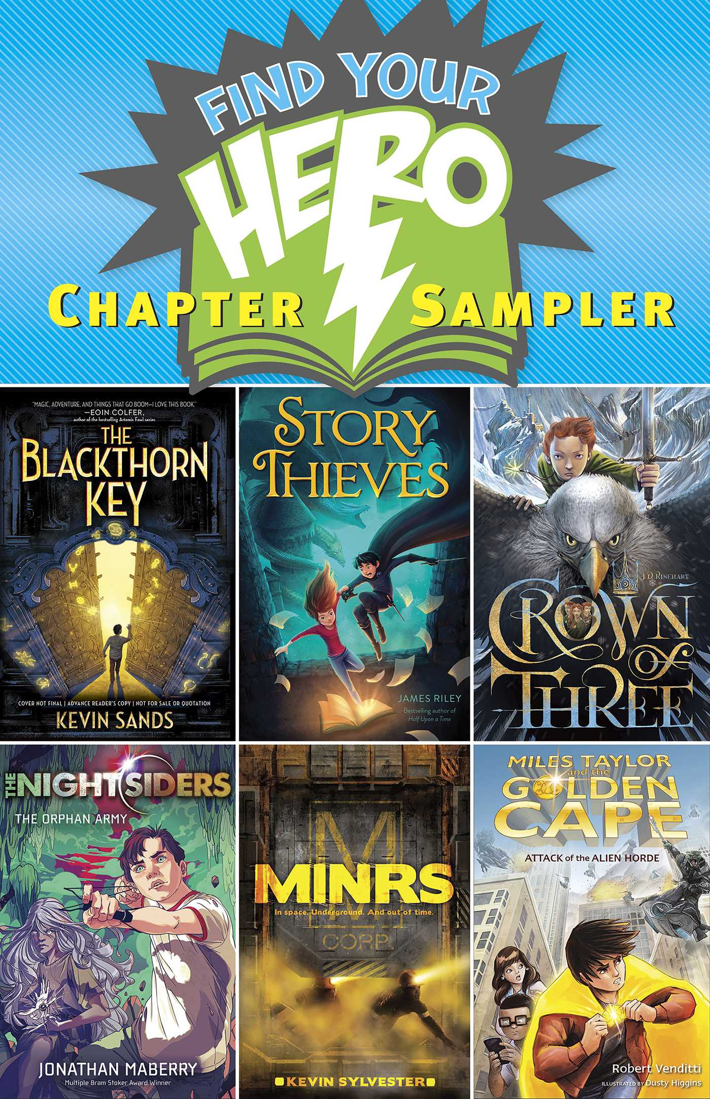 Find your hero chapter sampler 9781481467407 hr