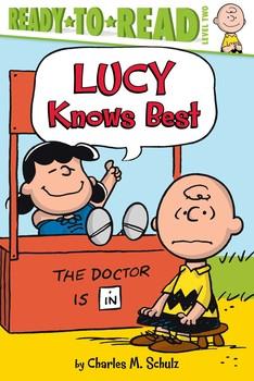 Lucy Knows Best Book By Charles M Schulz Kama Einhorn