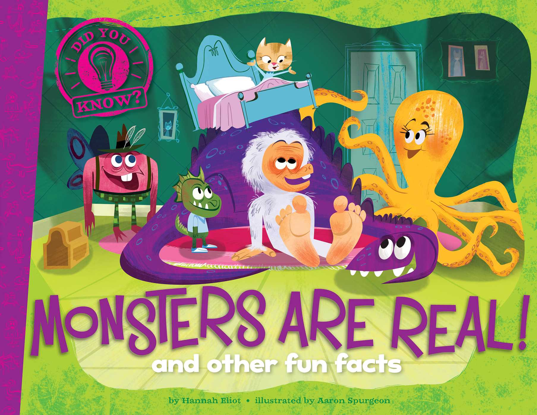 Monsters are real 9781481467810 hr