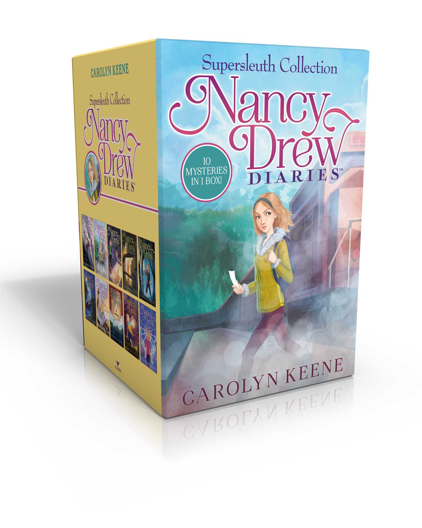 Nancy drew diaries supersleuth collection 9781481469241 hr
