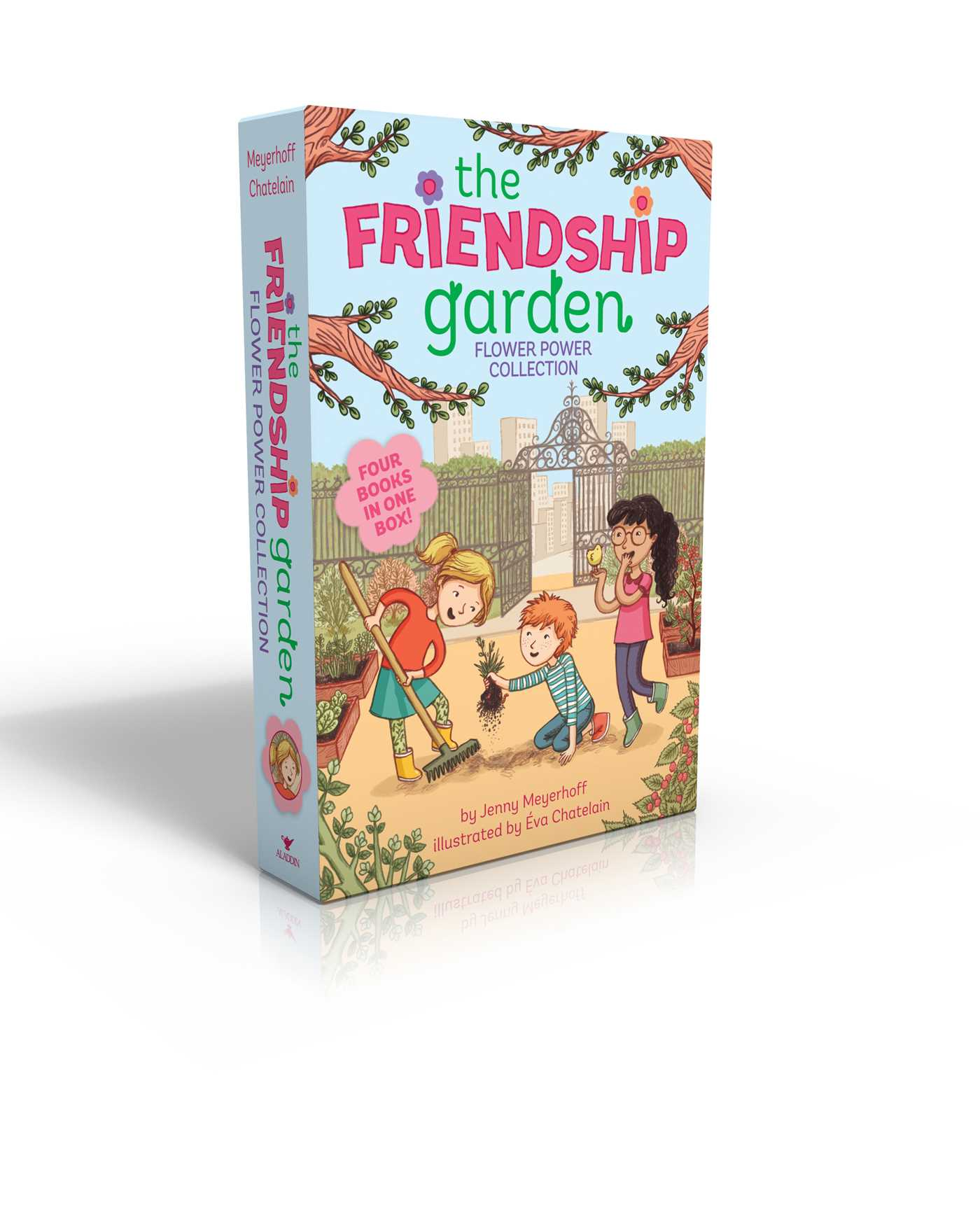 The friendship garden flower power collection books 1 4 9781481469258 hr