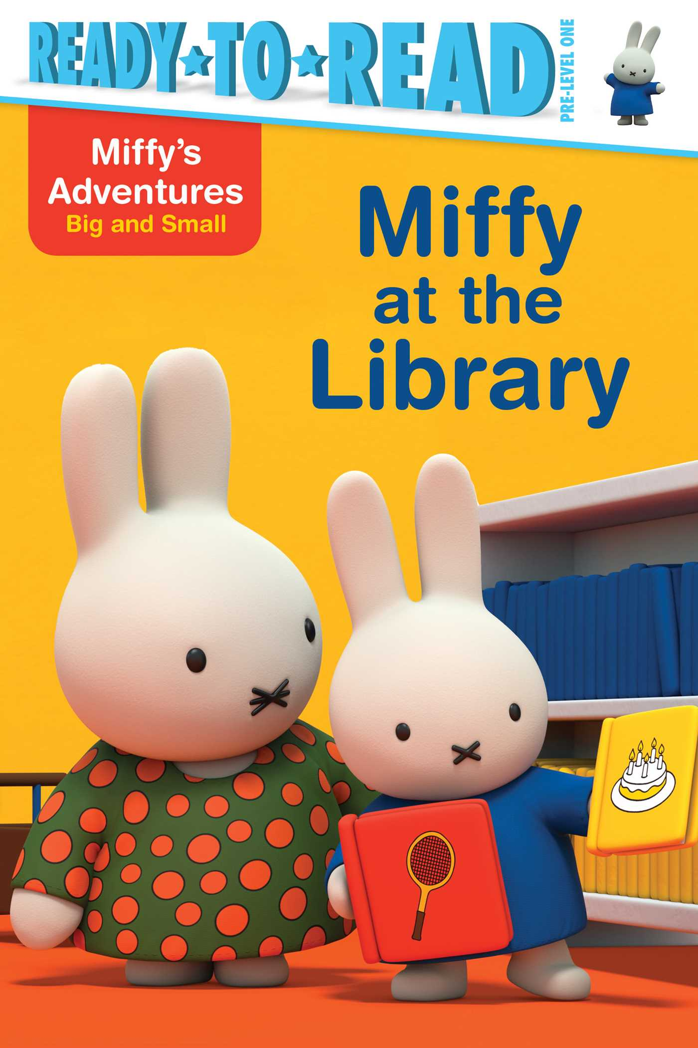 Miffy at the library 9781481469319 hr