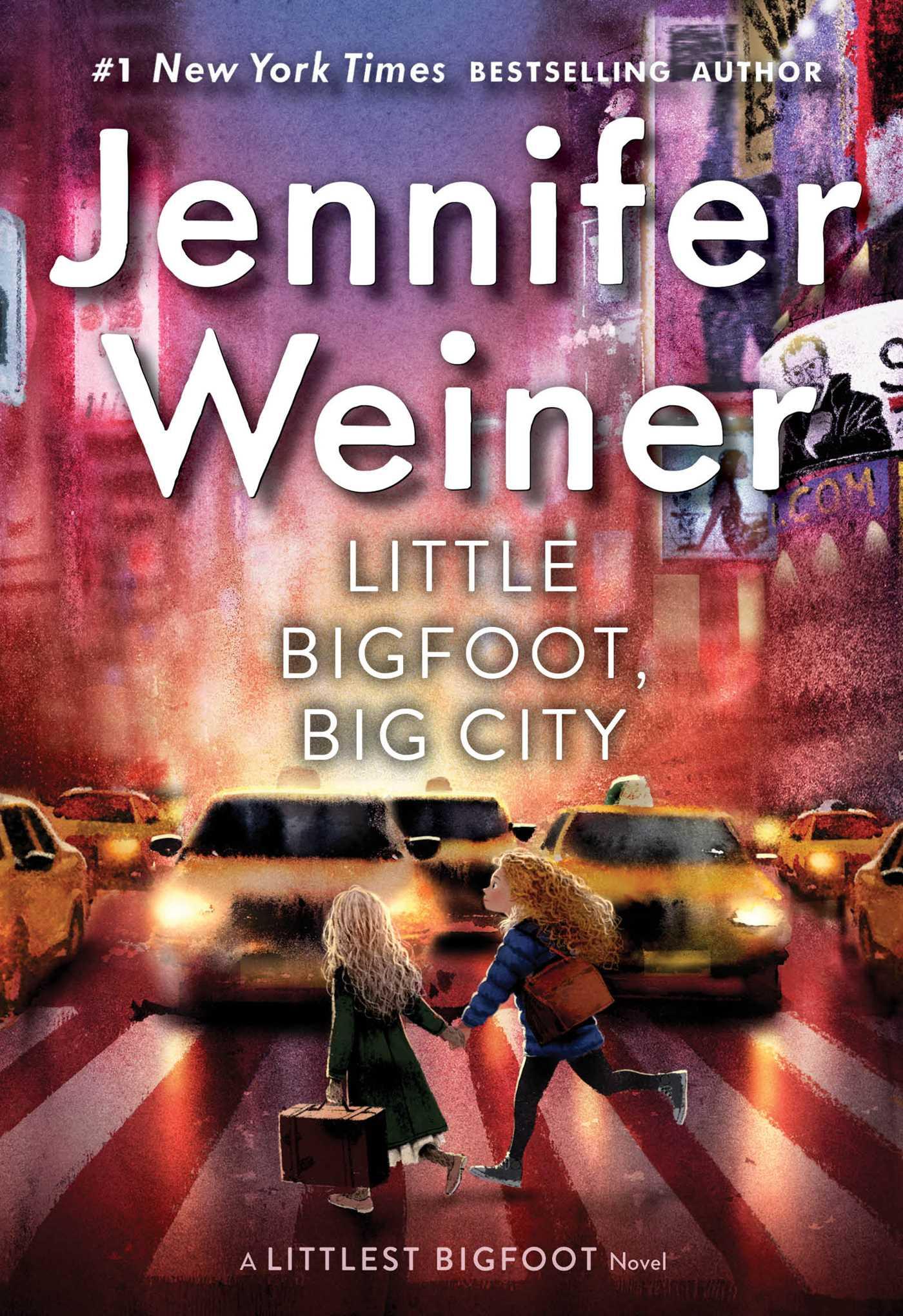 Book Cover Image (jpg): Little Bigfoot, Big City