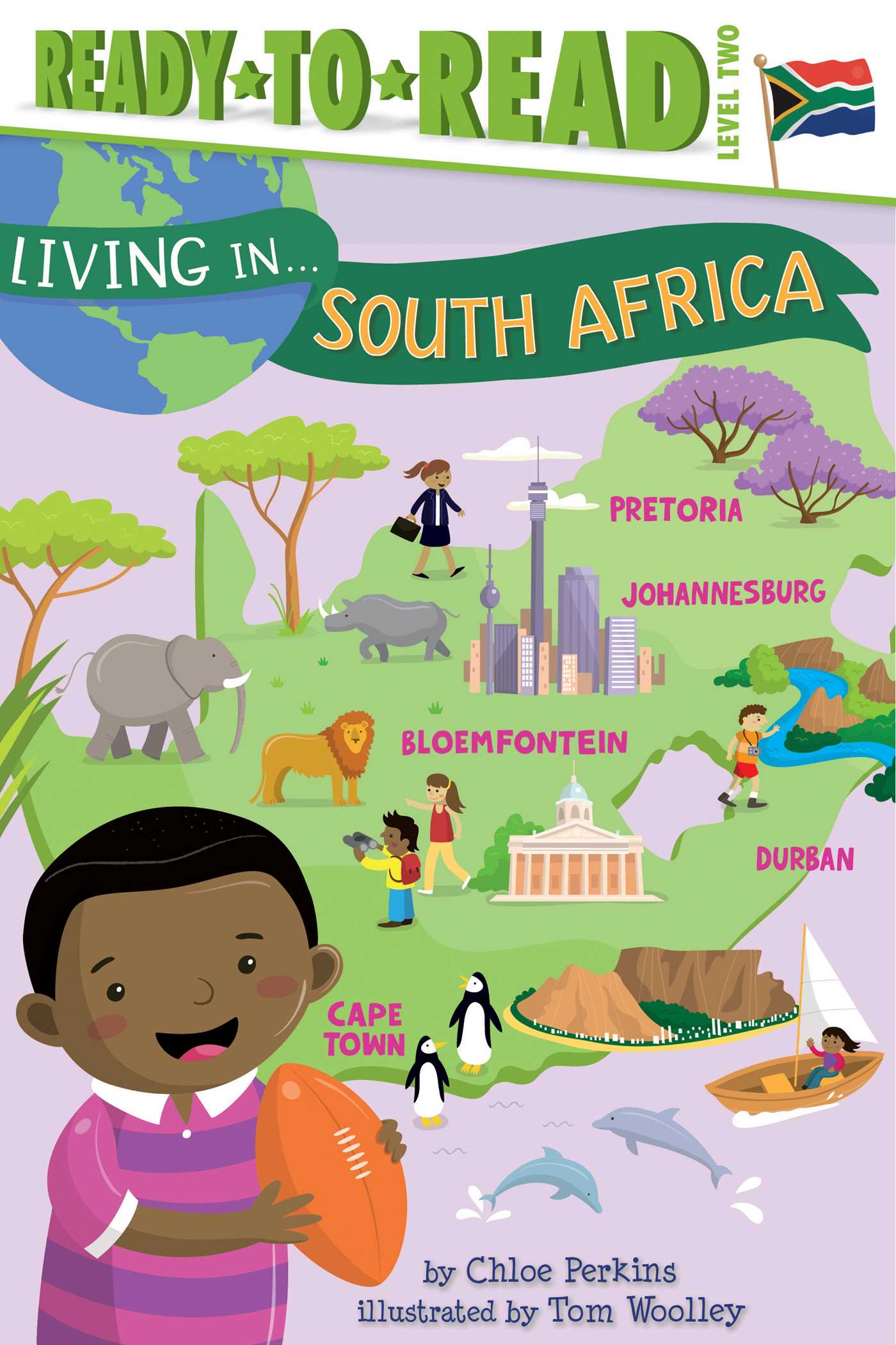 Living in south africa 9781481470926 hr