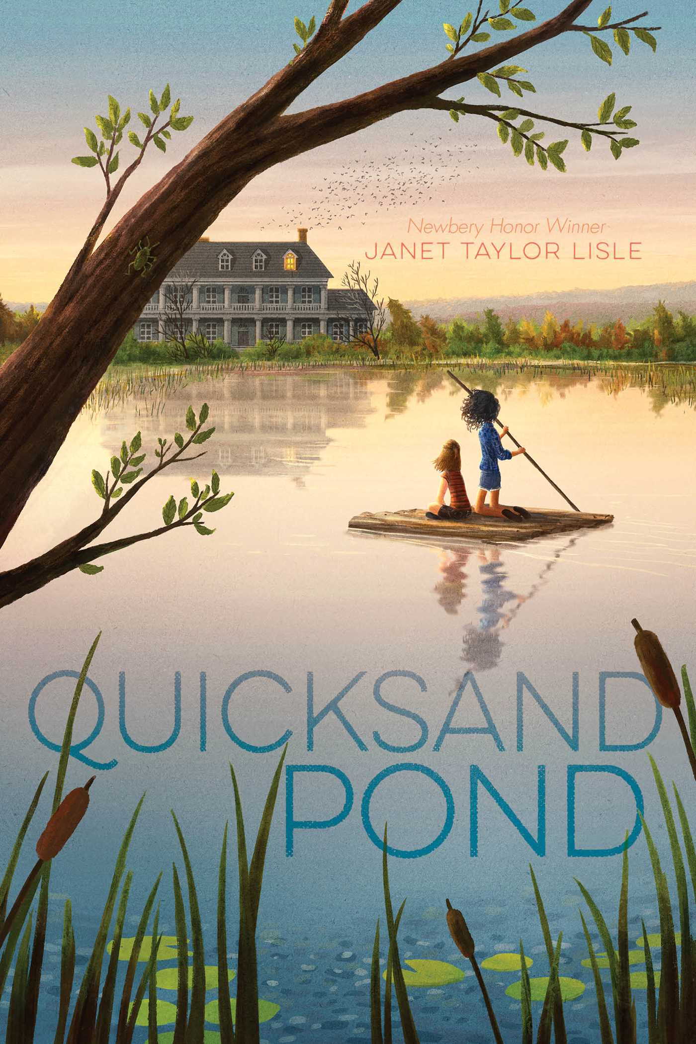 Quicksand pond 9781481472227 hr