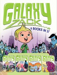Galaxy Zack 4 Books in 1!