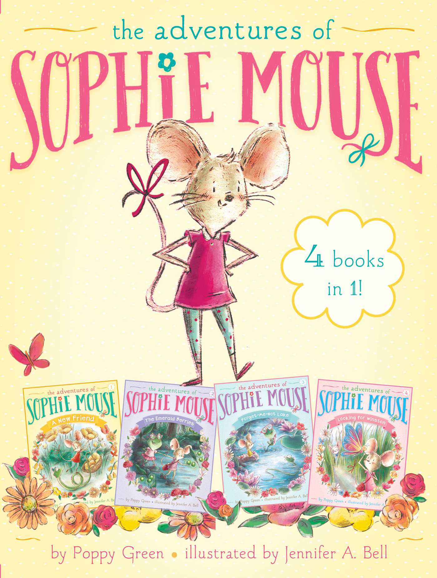 The adventures of sophie mouse 4 books in 1 9781481476010 hr