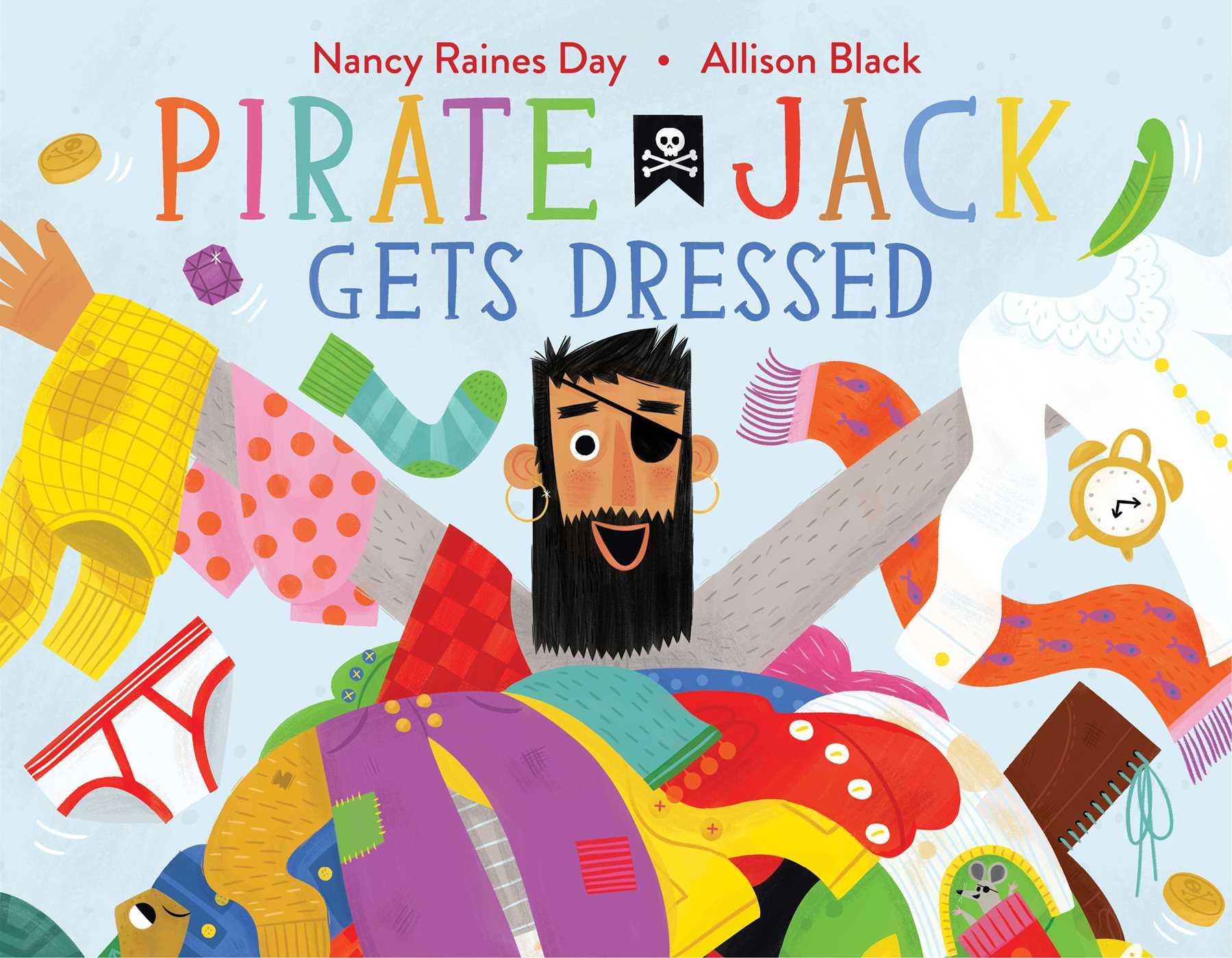 Pirate jack gets dressed 9781481476645 hr