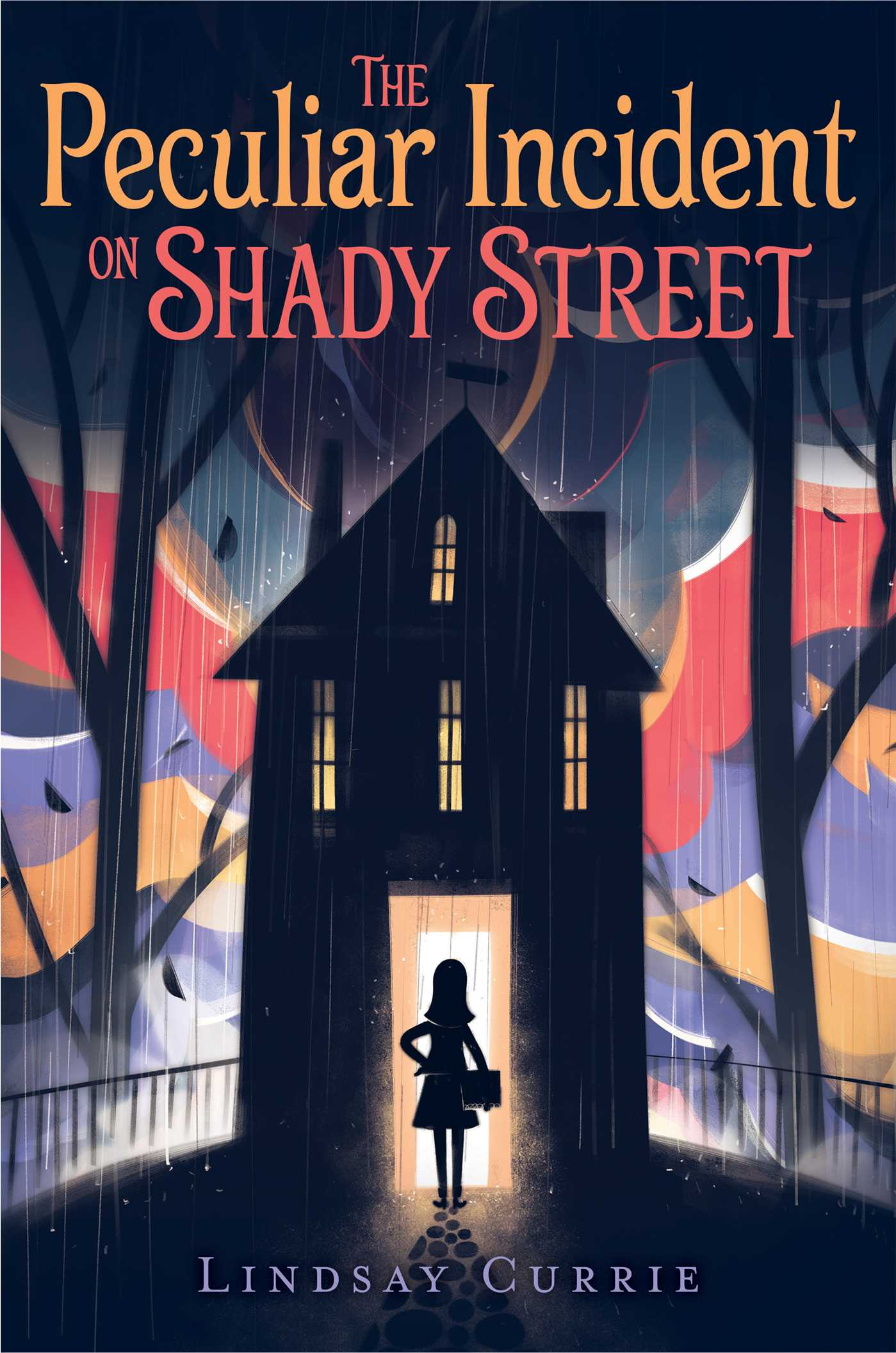 Image result for the peculiar incident on shady street book cover
